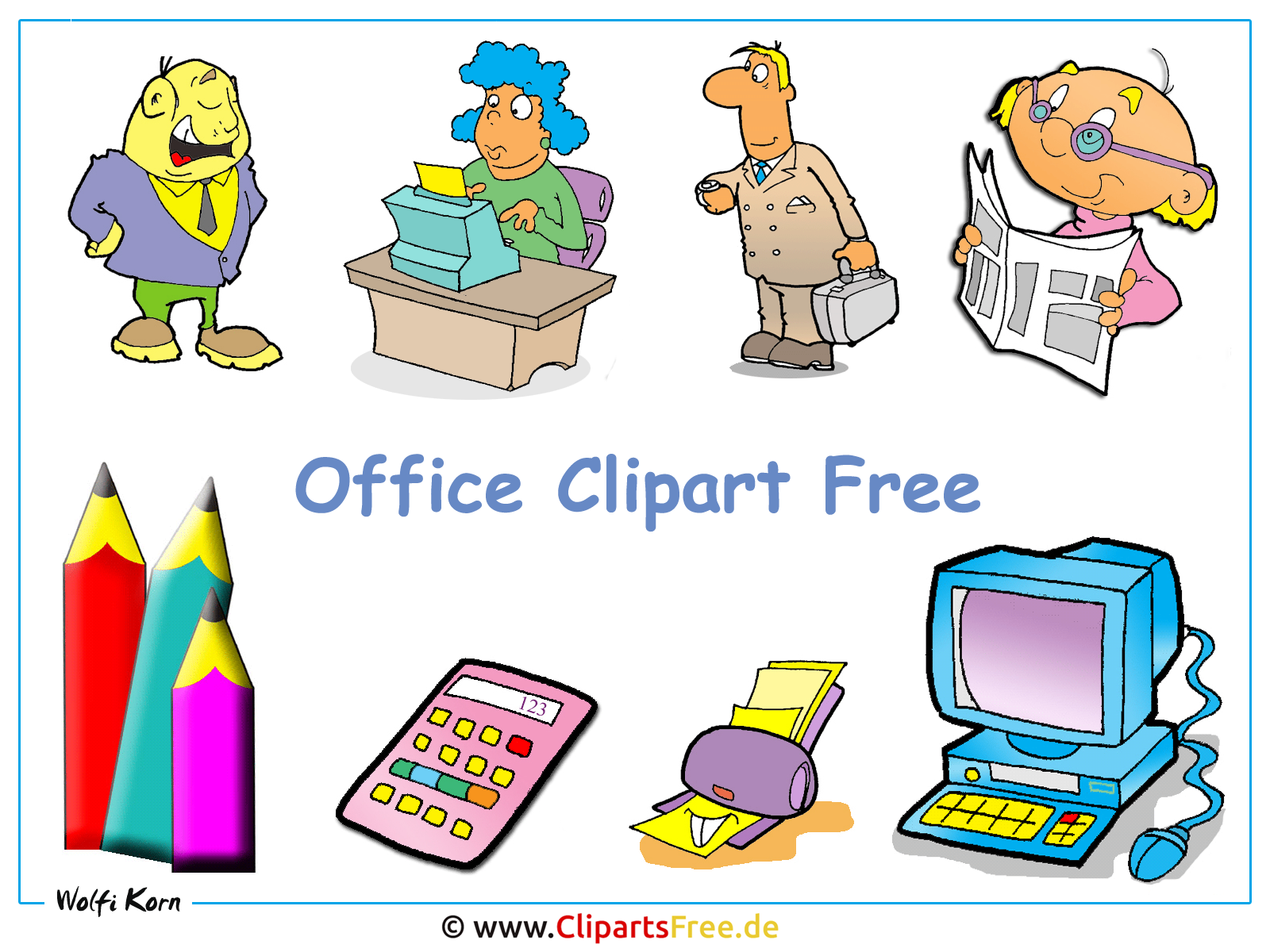 Clipart Office Gallery