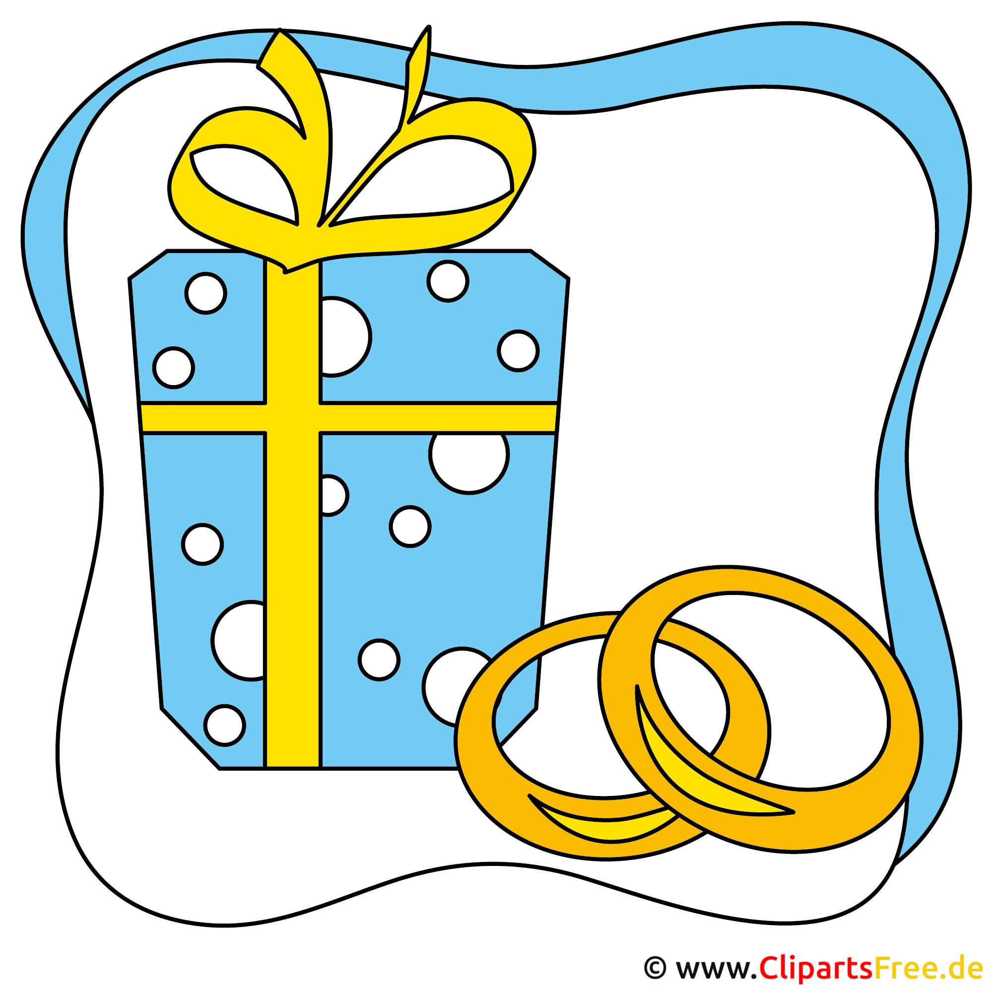 Eheringe clipart schwarz weiß  Clipart Hochzeitsmotive Trauringe gratis