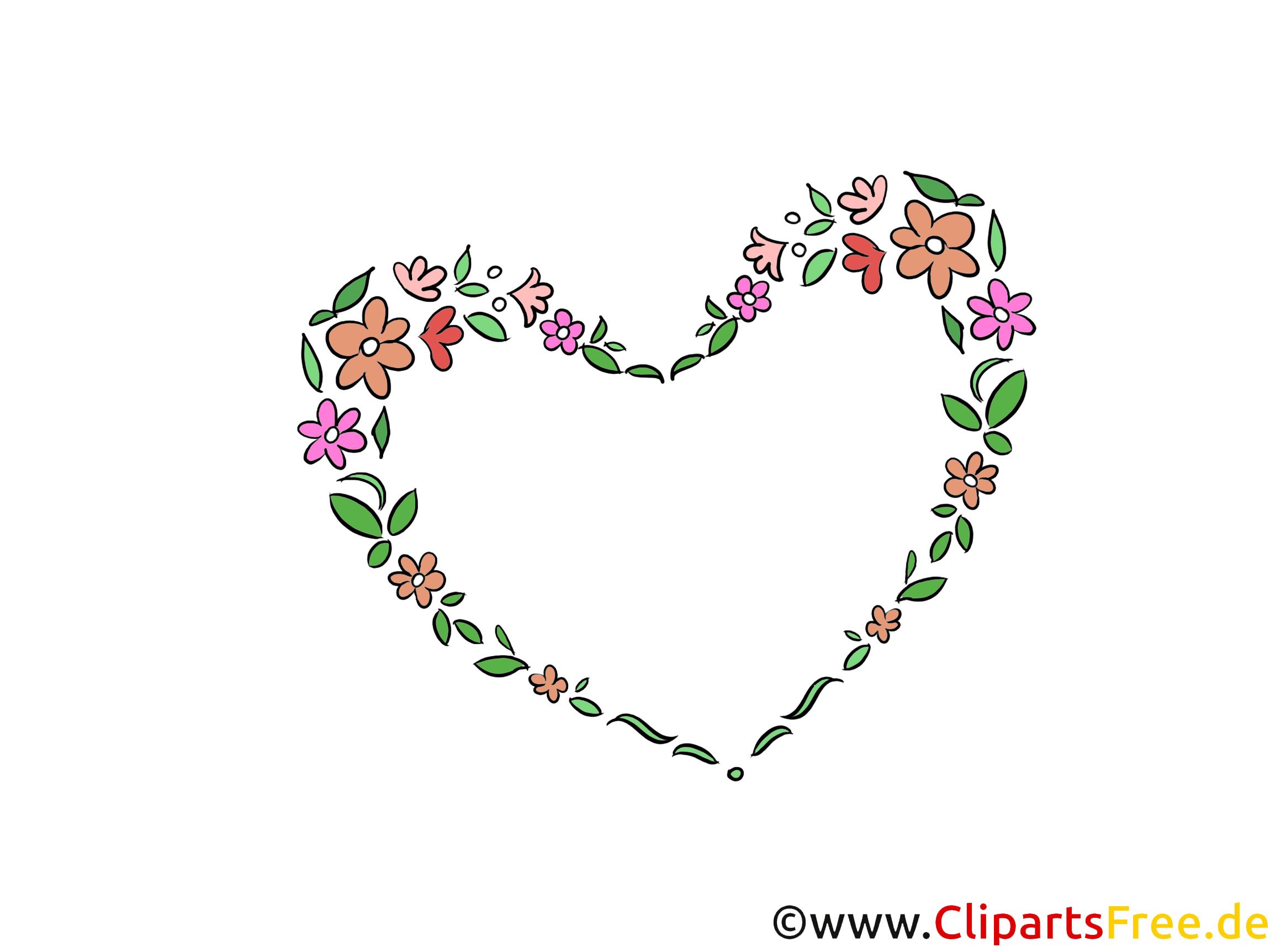Herz Clipart Hochzeit