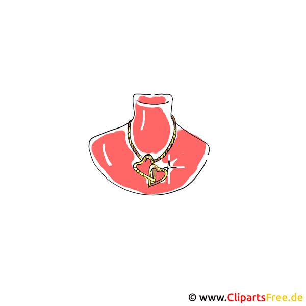 Schmuck Clipart zu Hochzeit