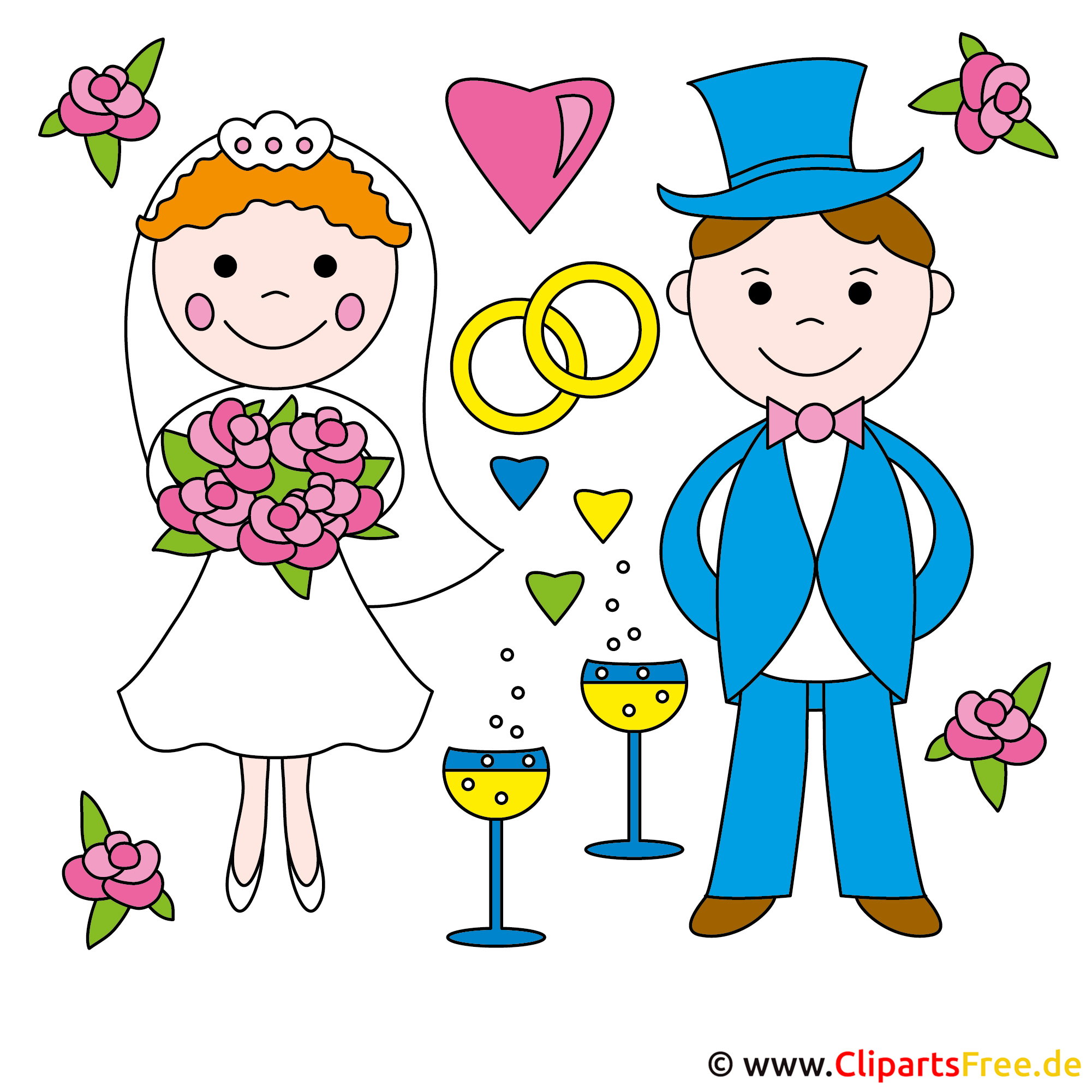 Wedding Clipart free