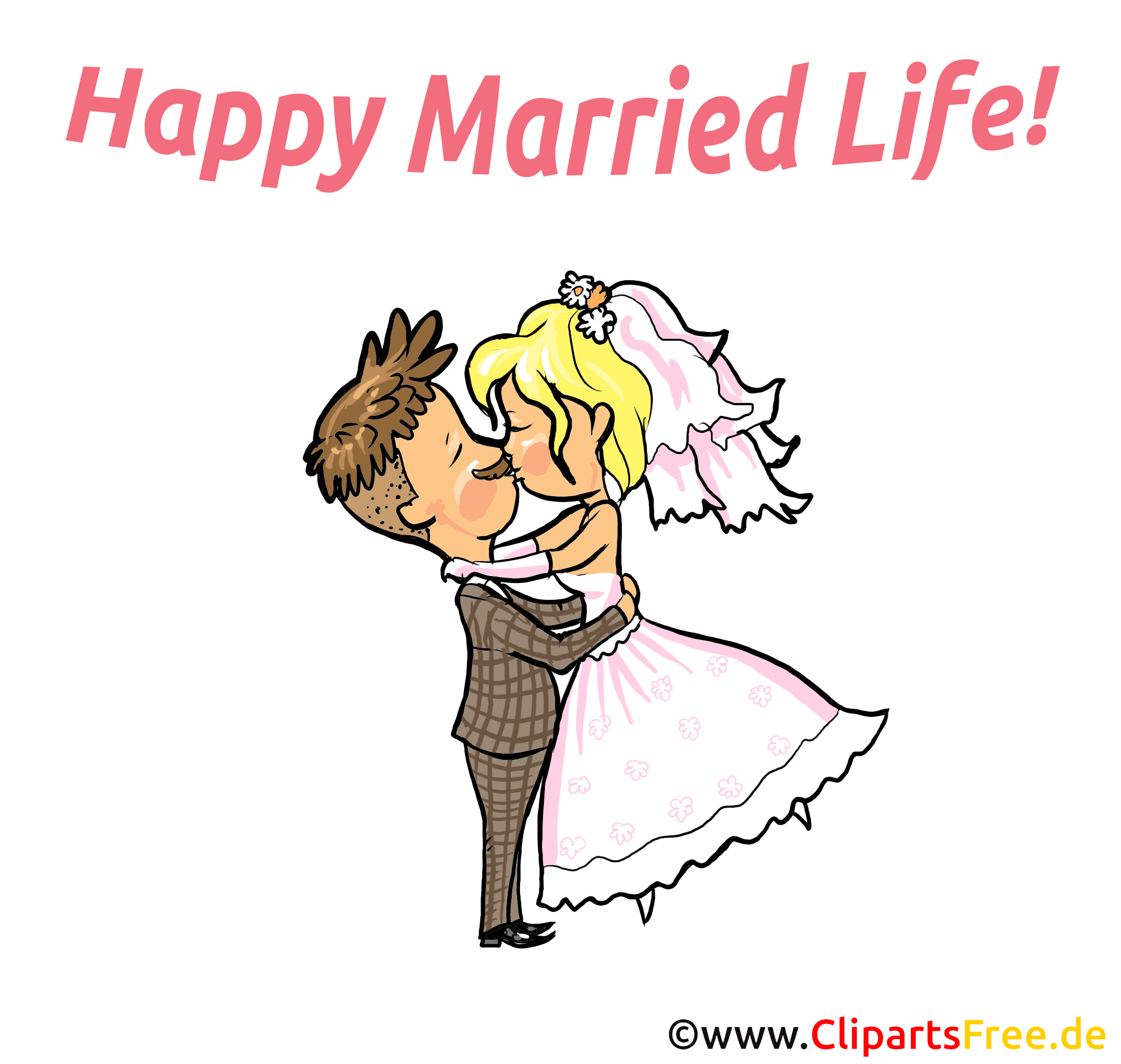 Wedding Wishes Card, Clip Art, Picture