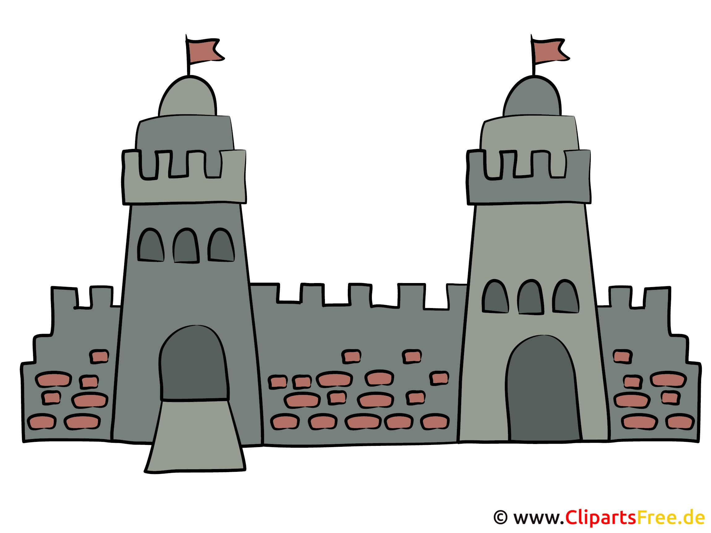 Burg Clipart