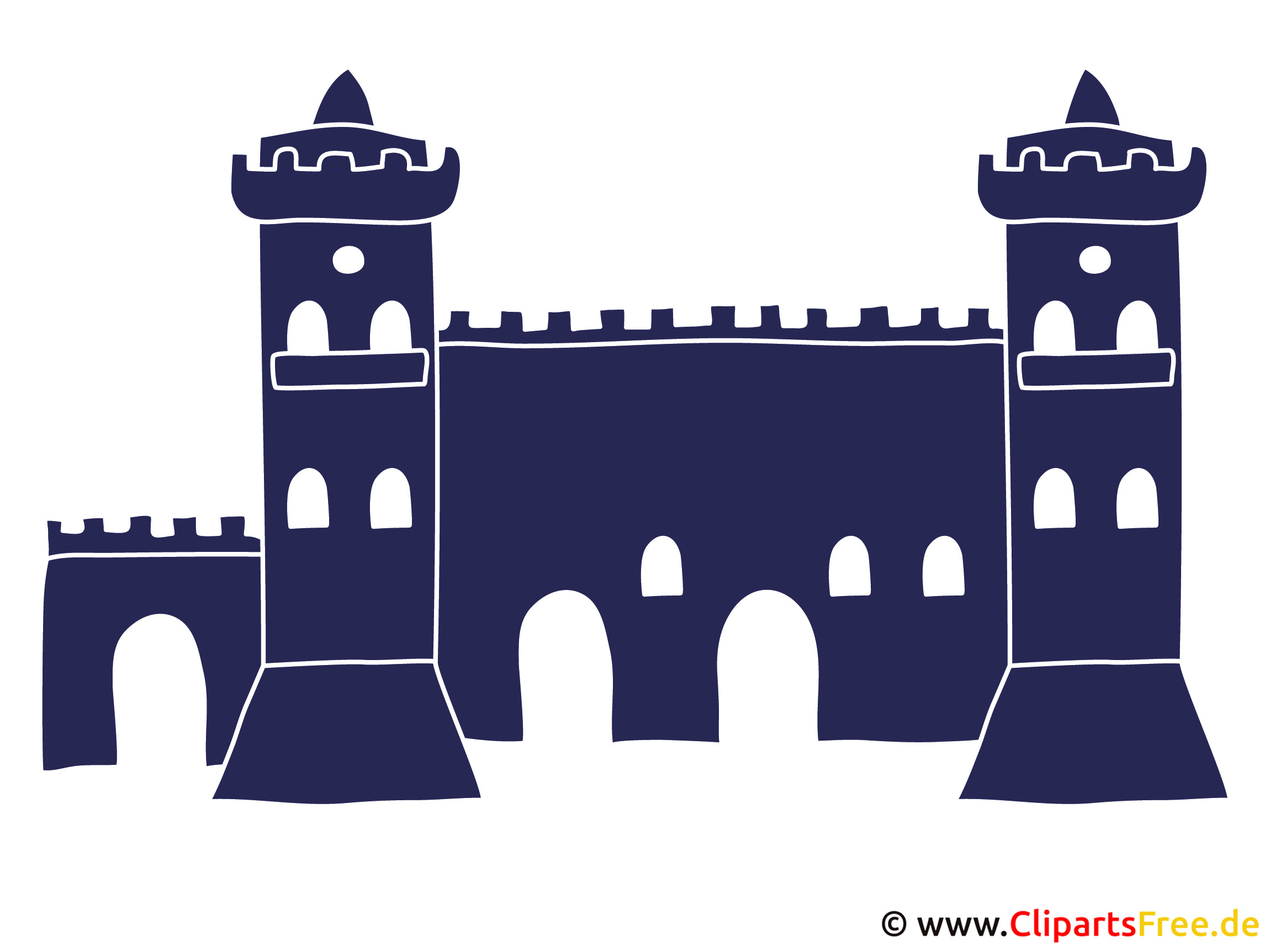 Burgmauer Clipart