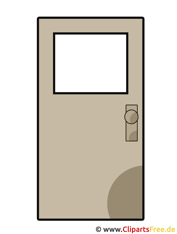 Clipart Tür, Eingangstür, Bauelemente