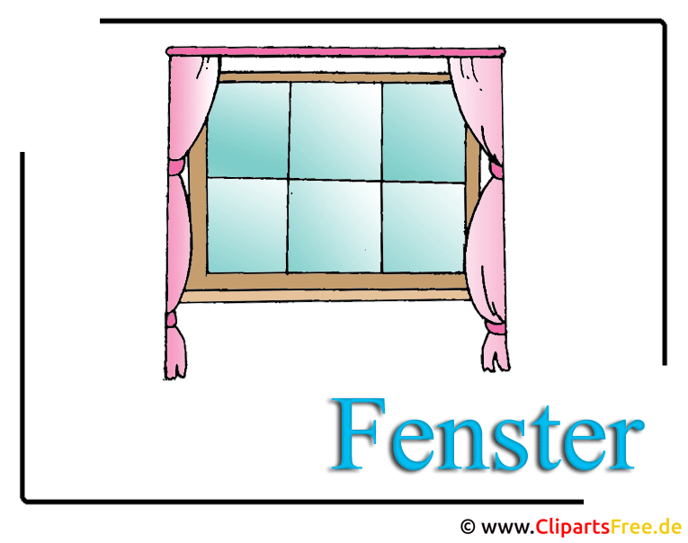 fenster clipart image free. Black Bedroom Furniture Sets. Home Design Ideas