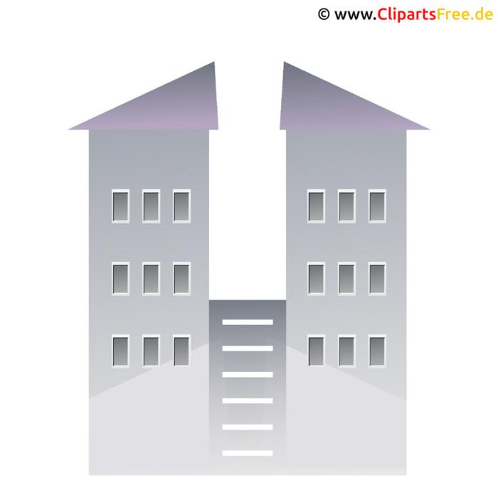 Haus Grafik Clipart gratis