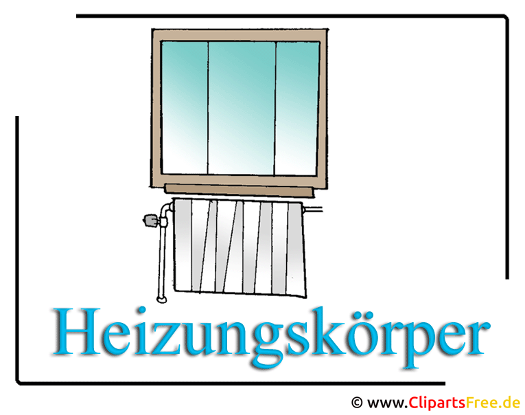 heizung clipart bild free. Black Bedroom Furniture Sets. Home Design Ideas