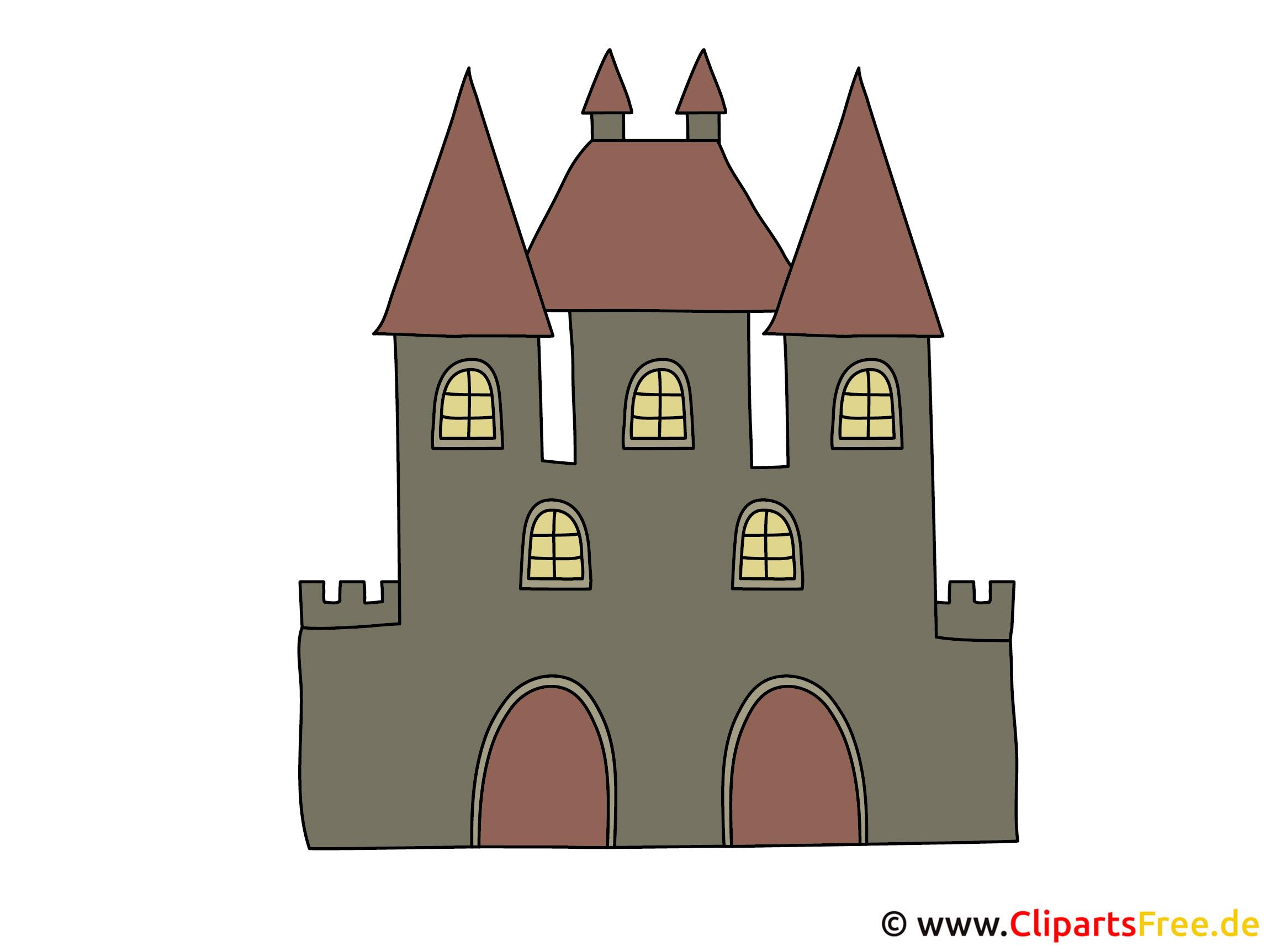 Hexeschloss Clipart