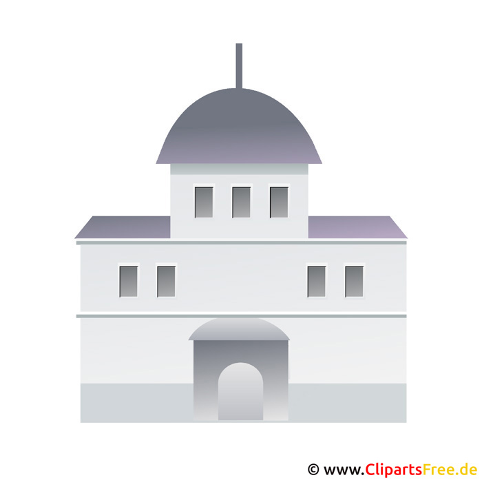 Rathaus Bild Clip Art free