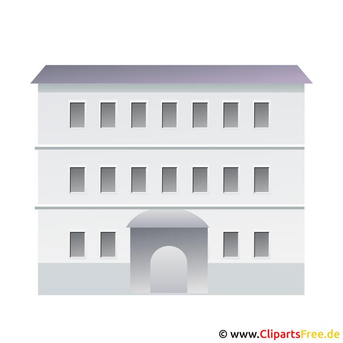 Haus clipart schwarz weiß  Immobilien Bilder, Cliparts, Cartoons, Grafiken, Illustrationen ...