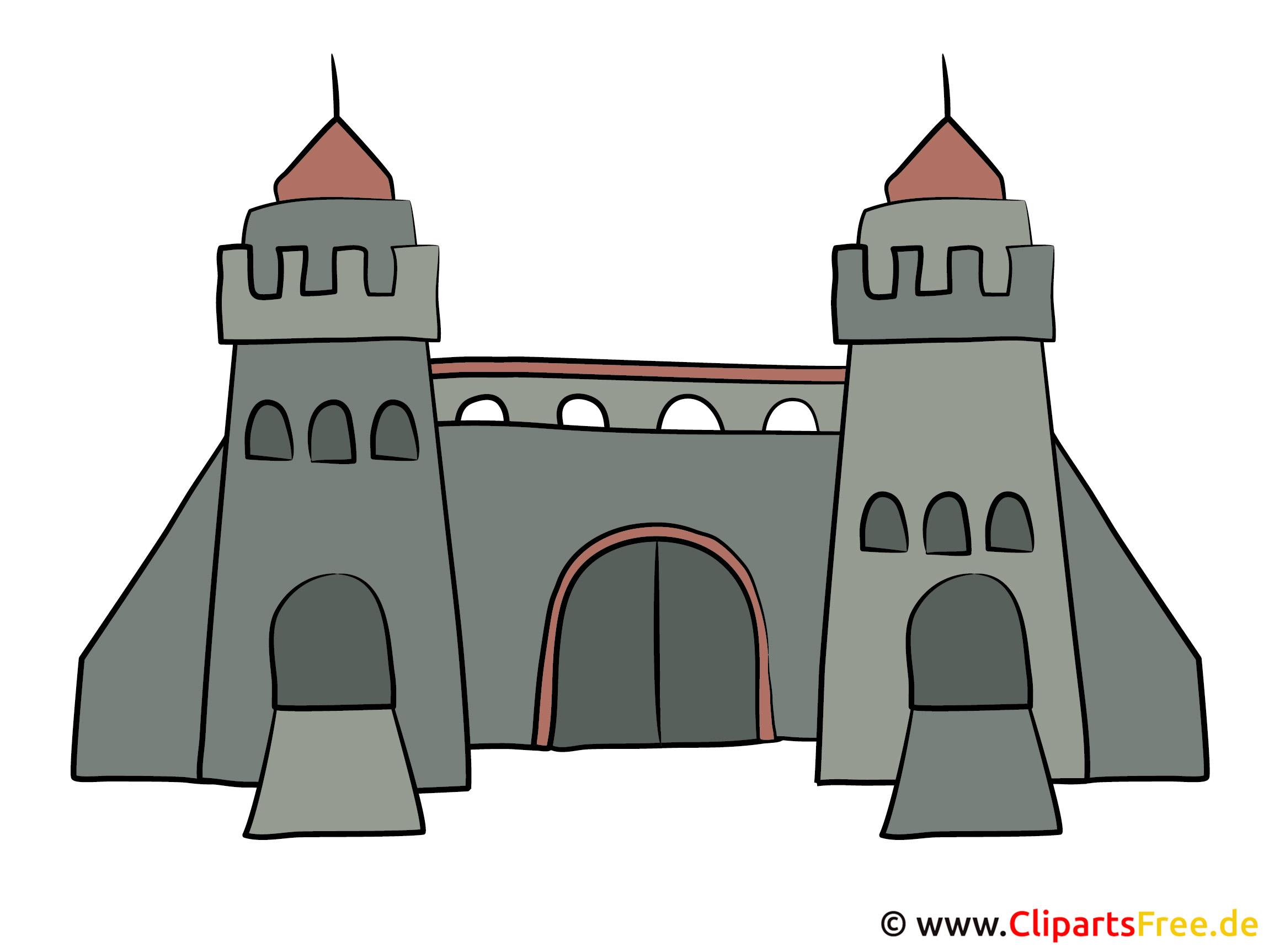 Zwei Türme Bild, Clipart, Grafik
