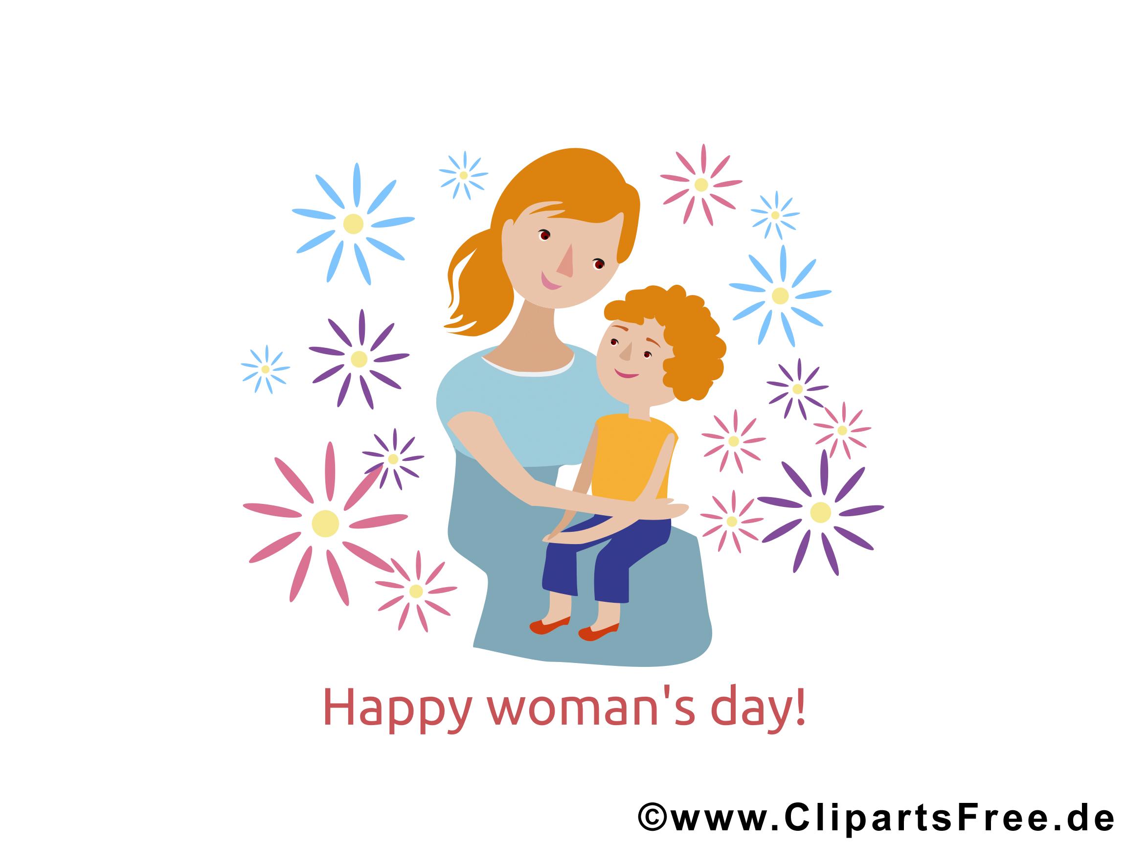 Glückwuensche zum Welt Frauentag