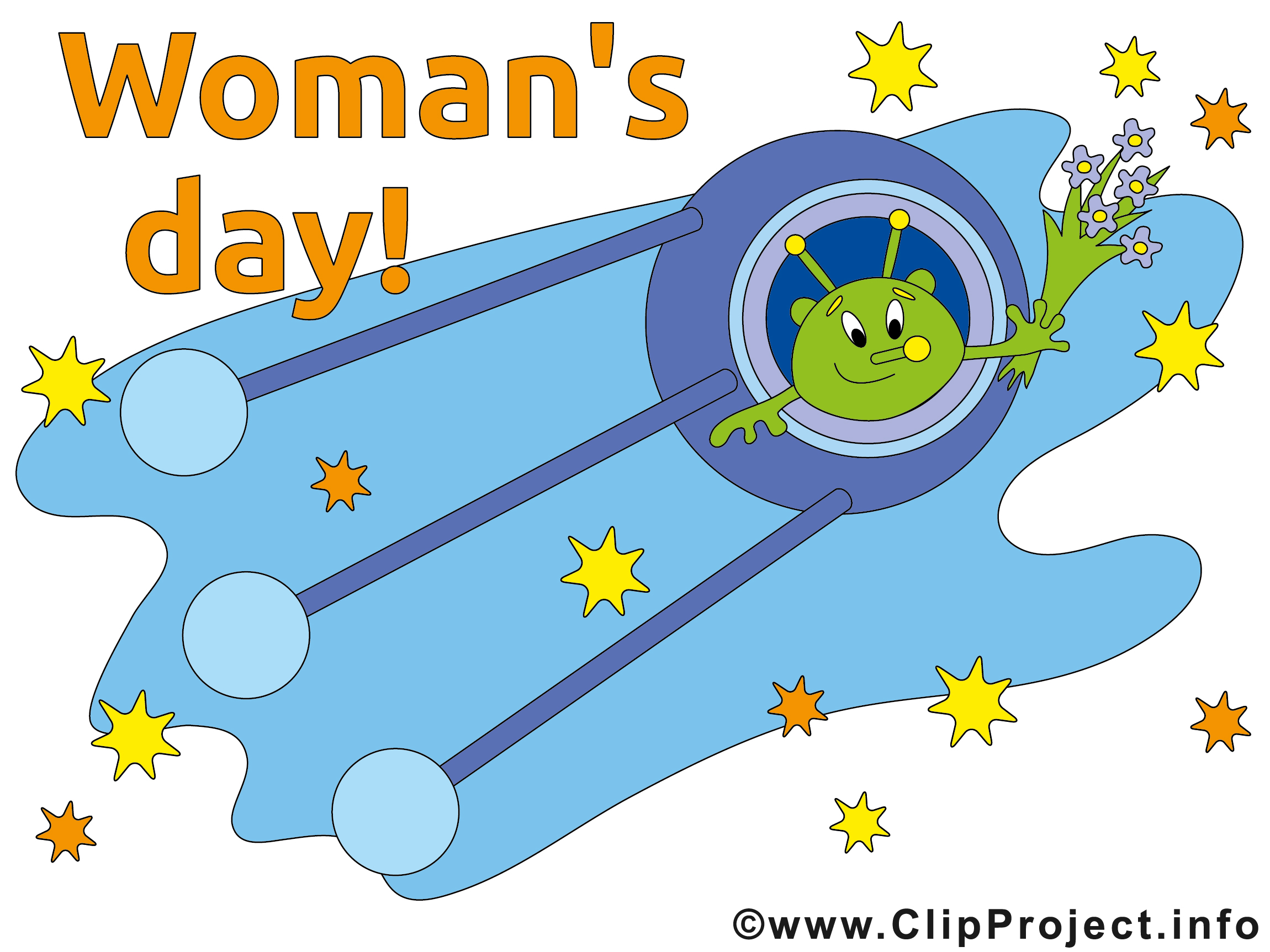 Womans Day Clip Art