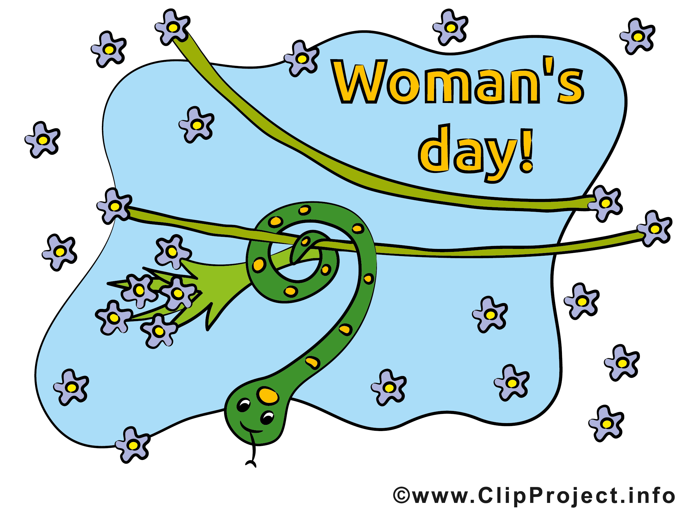 Womens Day Card, Clip Art, Picture