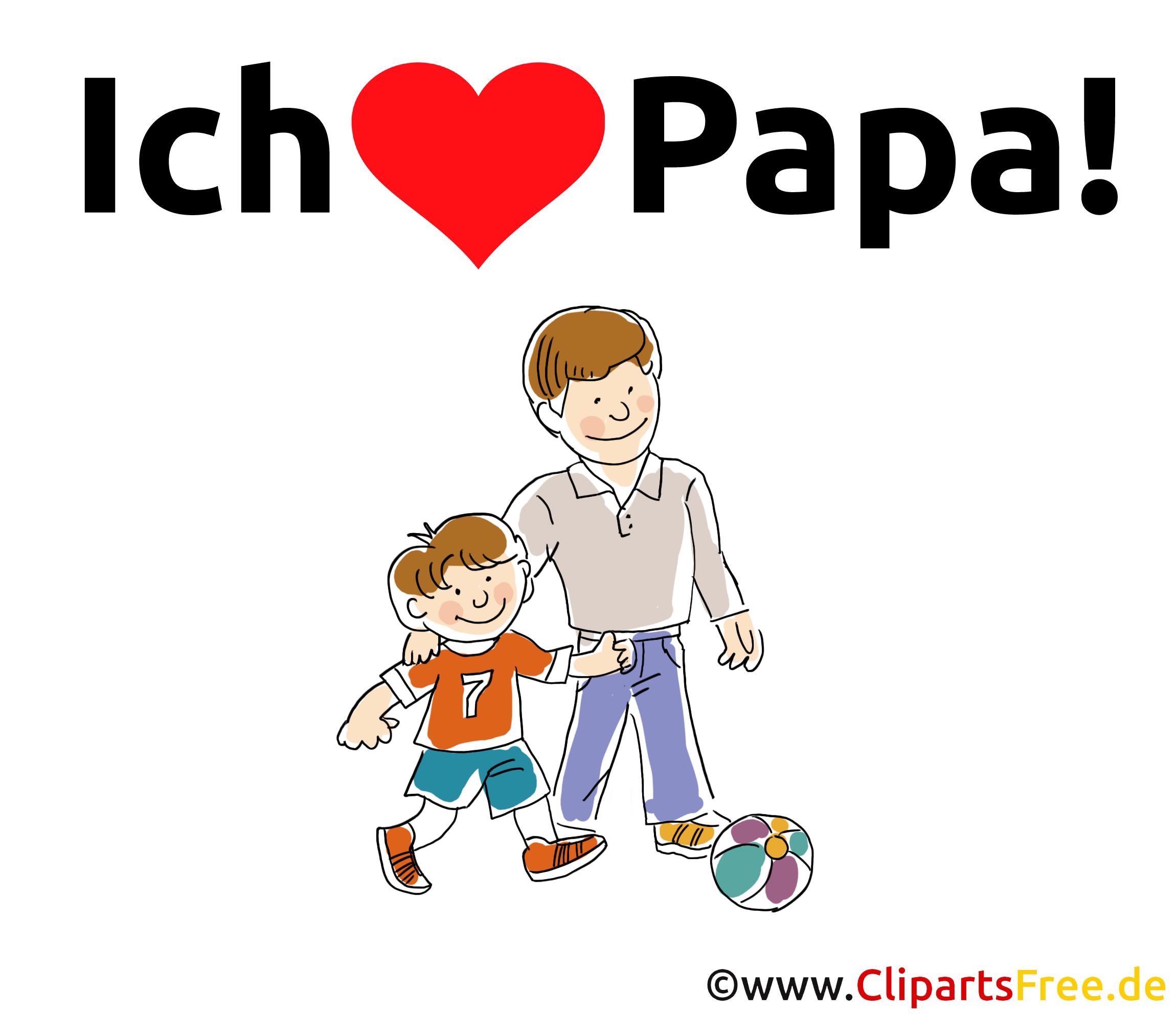 Bilder mit schönen Sprüchen zum Vatertag