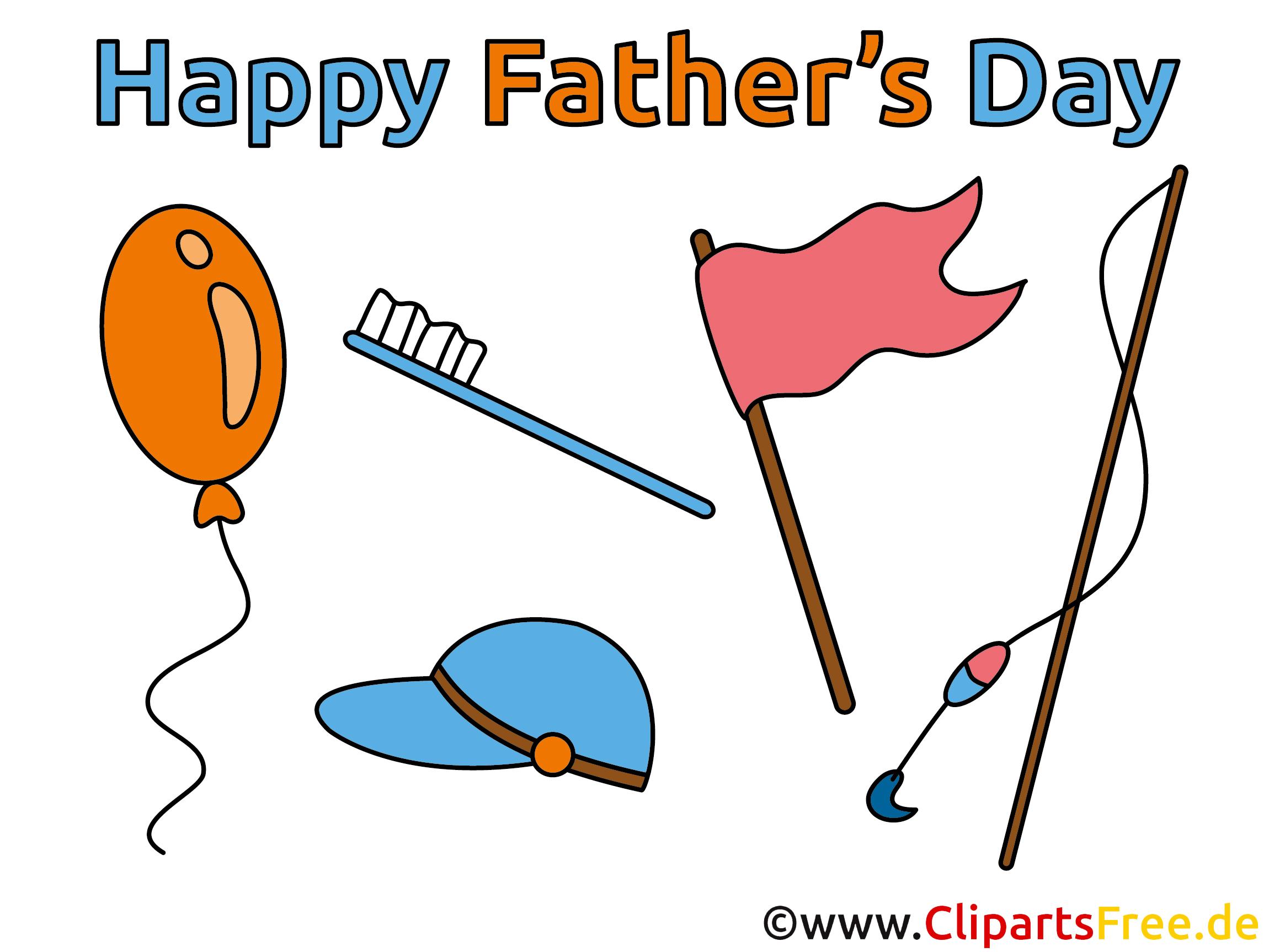 Cliparts zum Vatertag