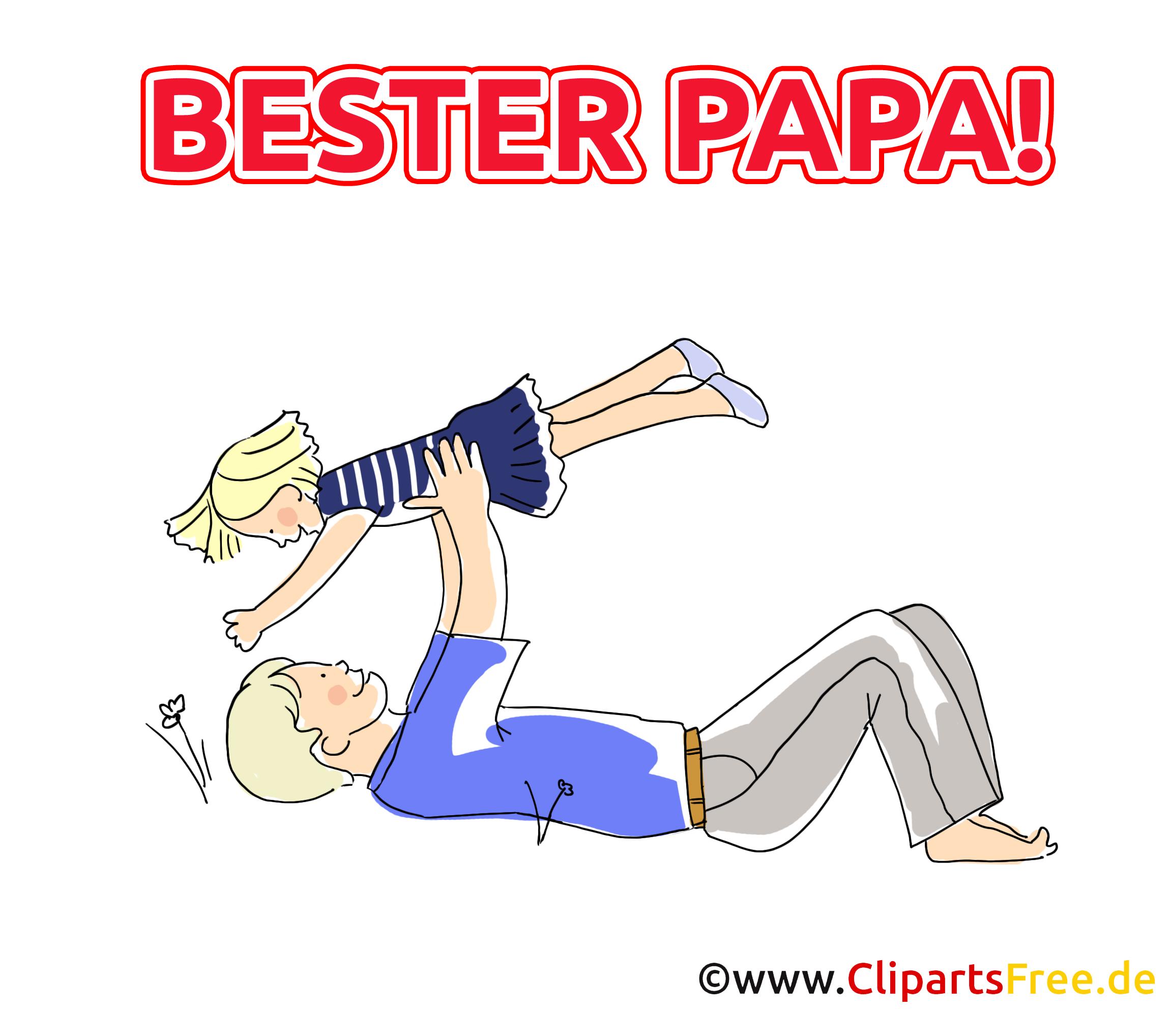 Spruch Bild zum Vatertag