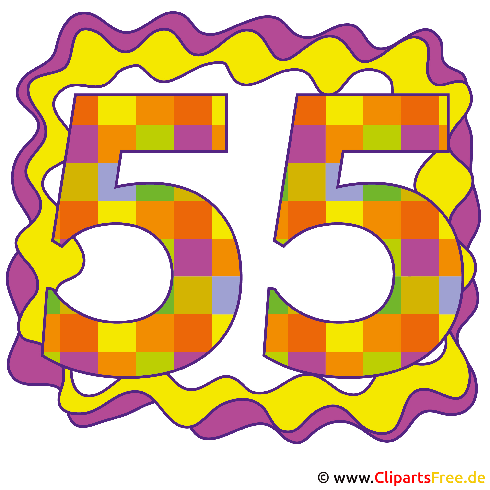 55 Glückwunschkarte, Bild, Clipart