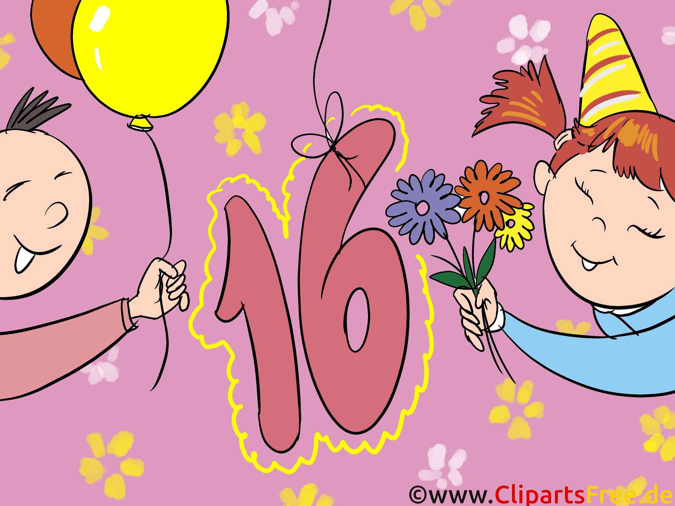 Geburtstag 16