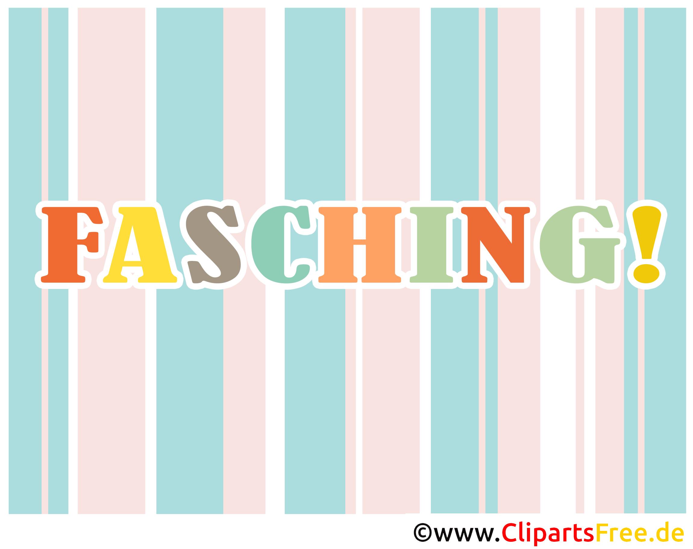 Clipart Fasching kostenlos