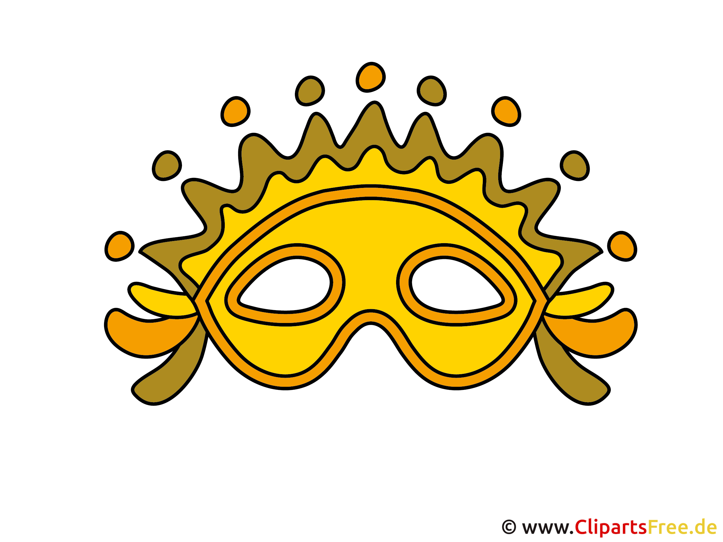 Maske Clipart