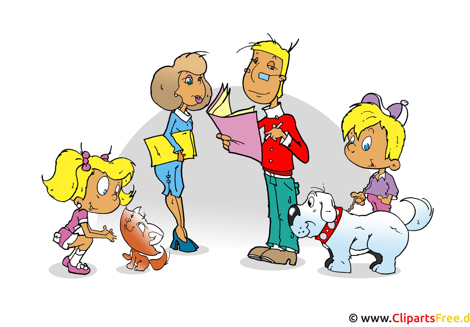 Clipart Familie Kostenlos