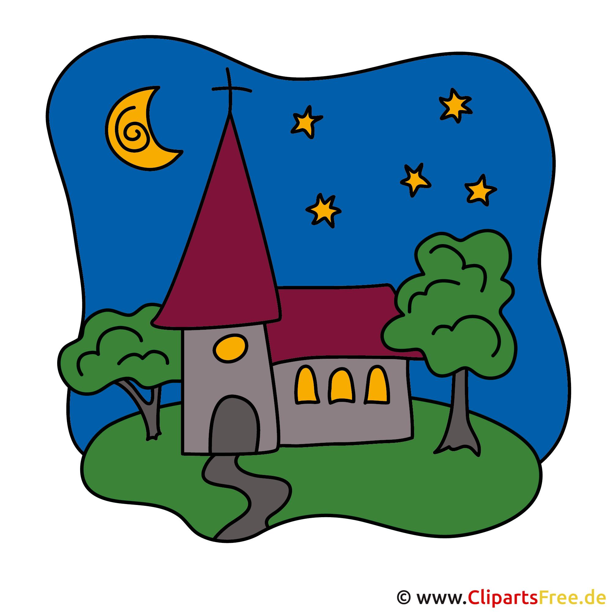 Konfirmation Clipart kostenlos - Kirche Cliparts