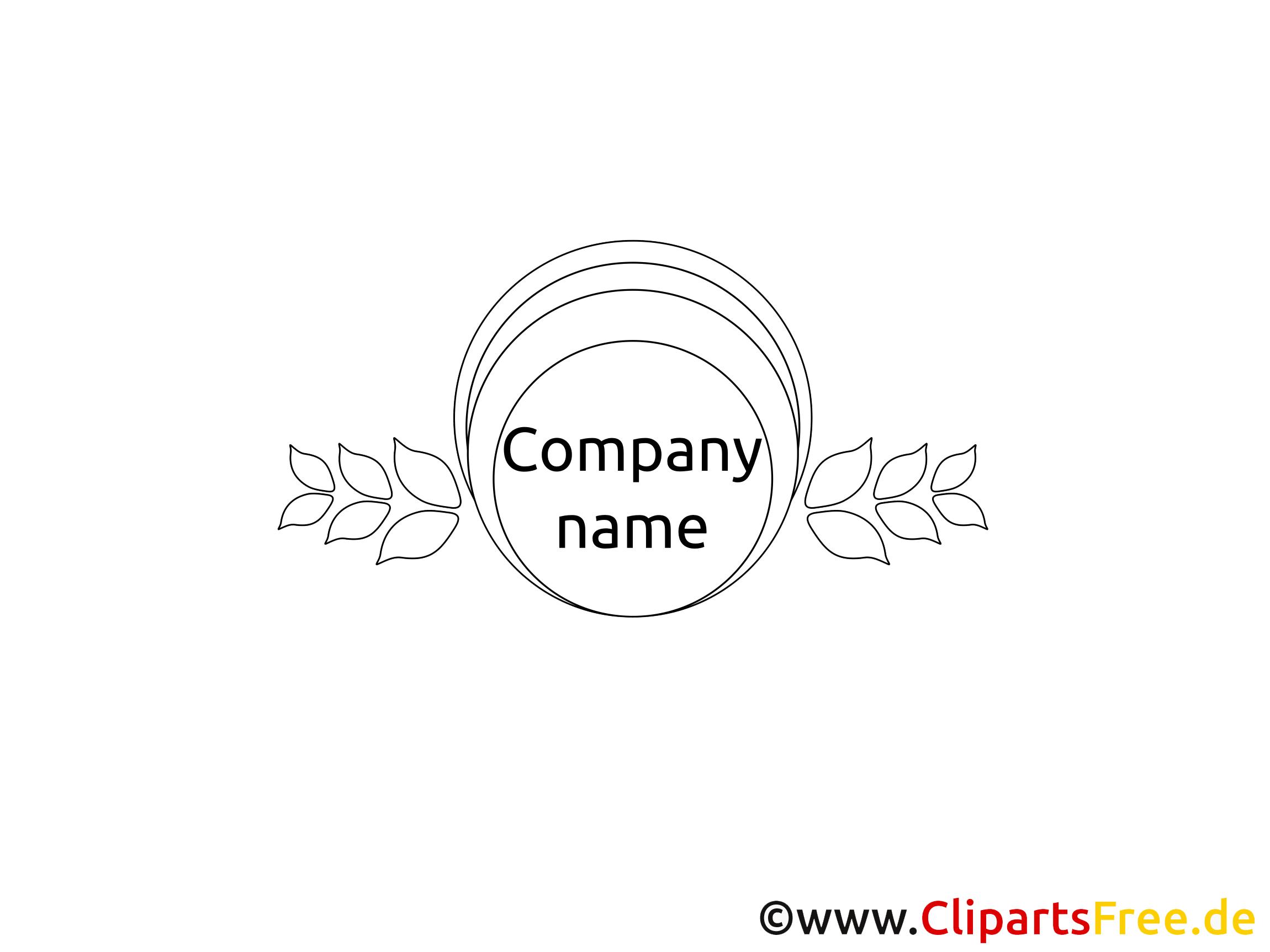 Template Logo schwarz-weiss