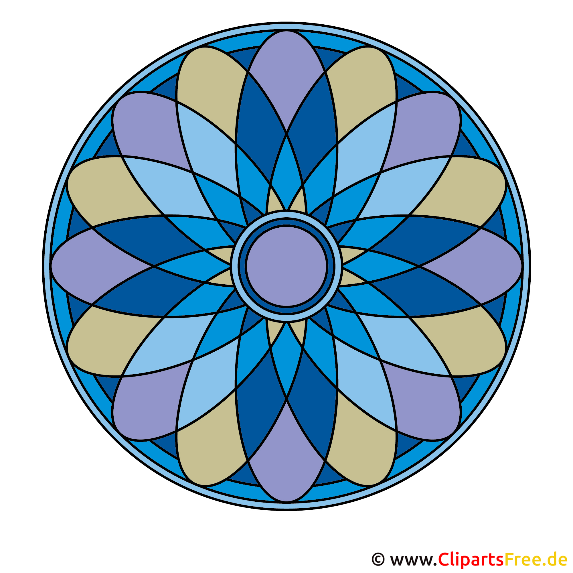 Mandala Frühling