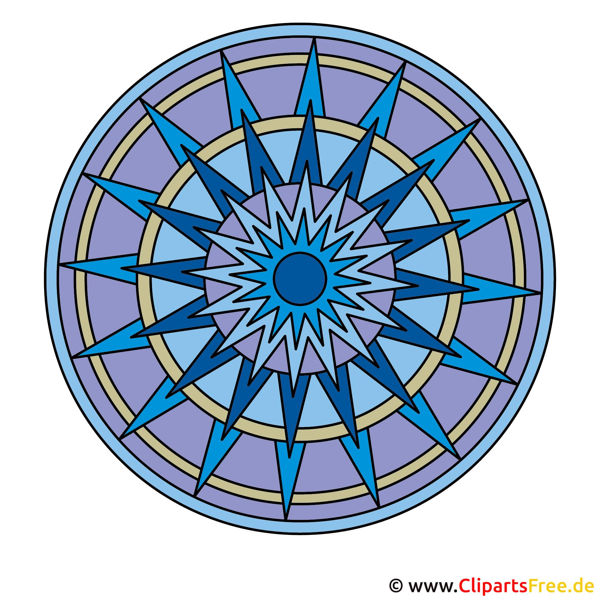 Mandala in Farbe