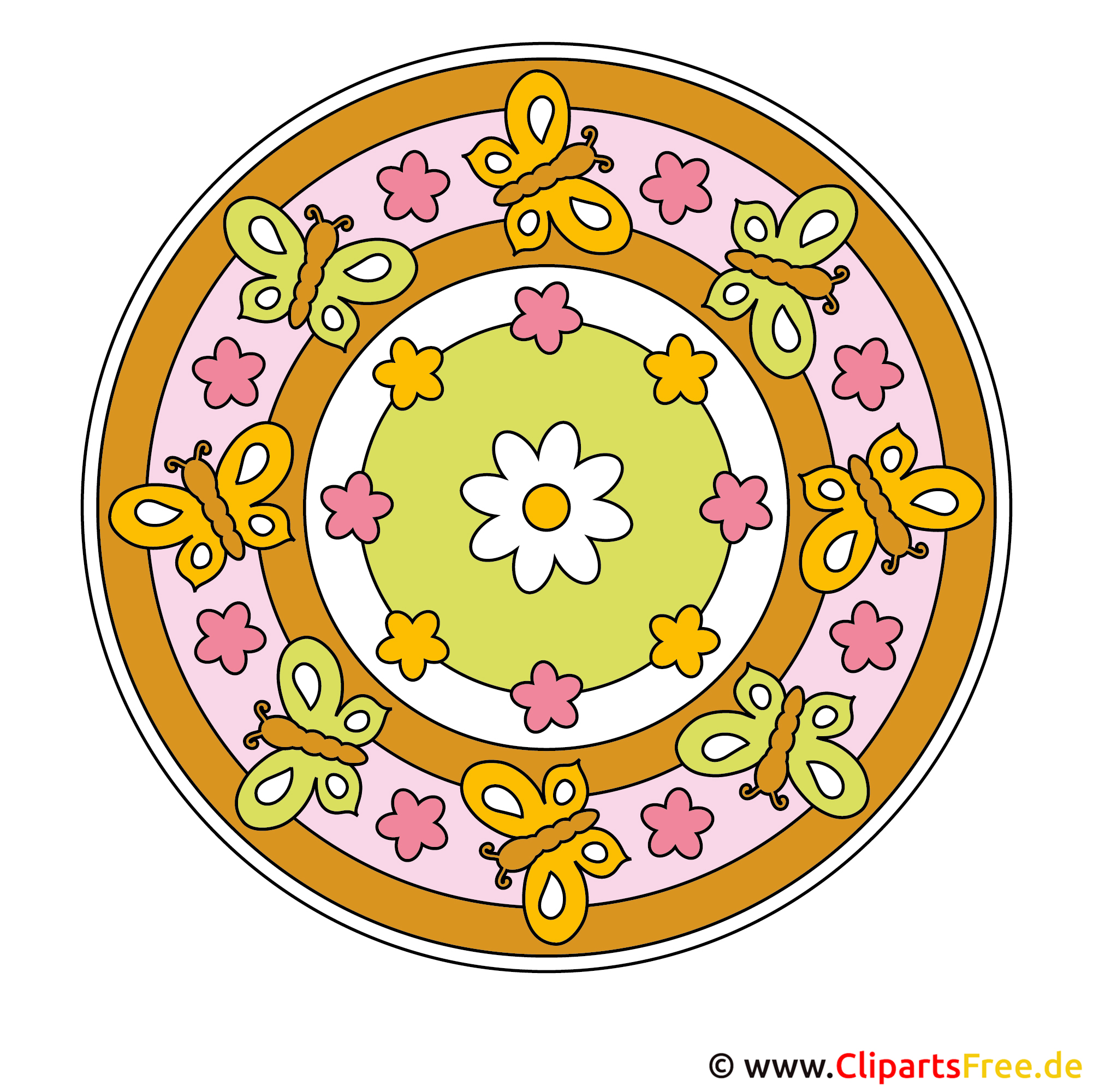 Mandalas in Farbe