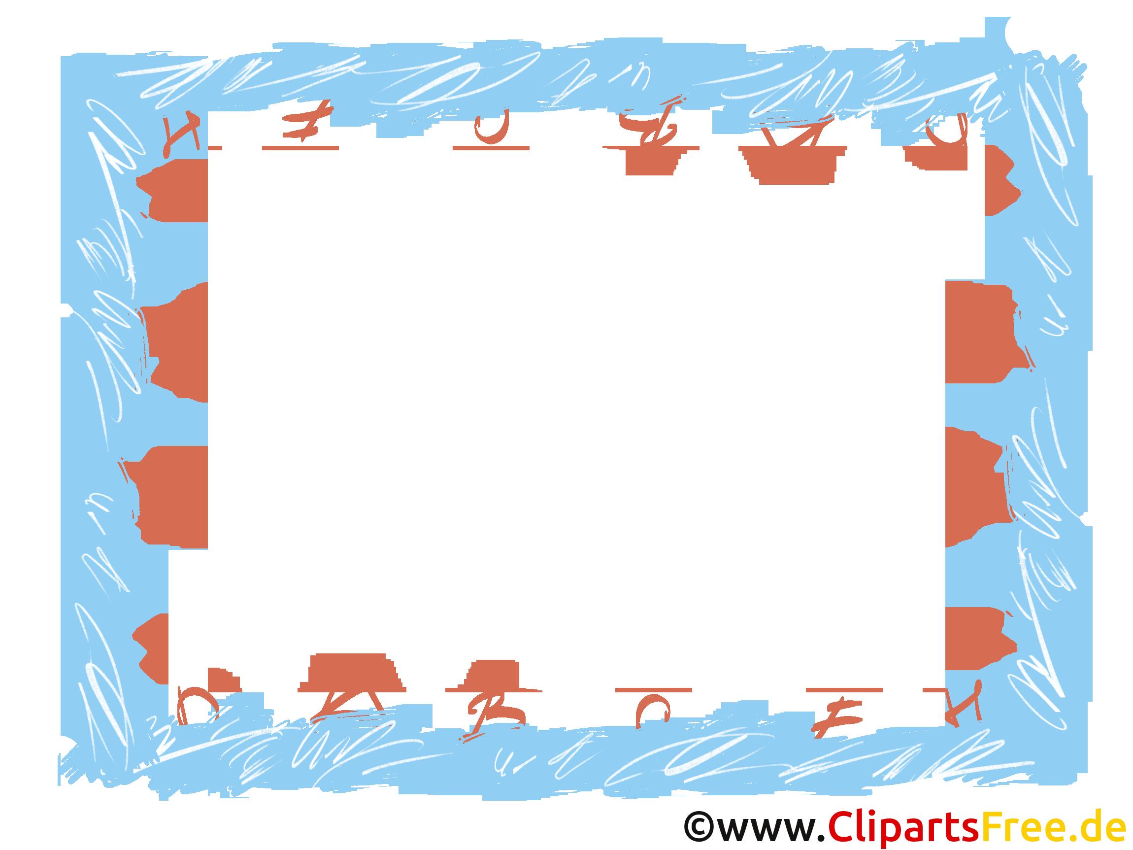 Hintergrund Rahmen ABC kostenlos