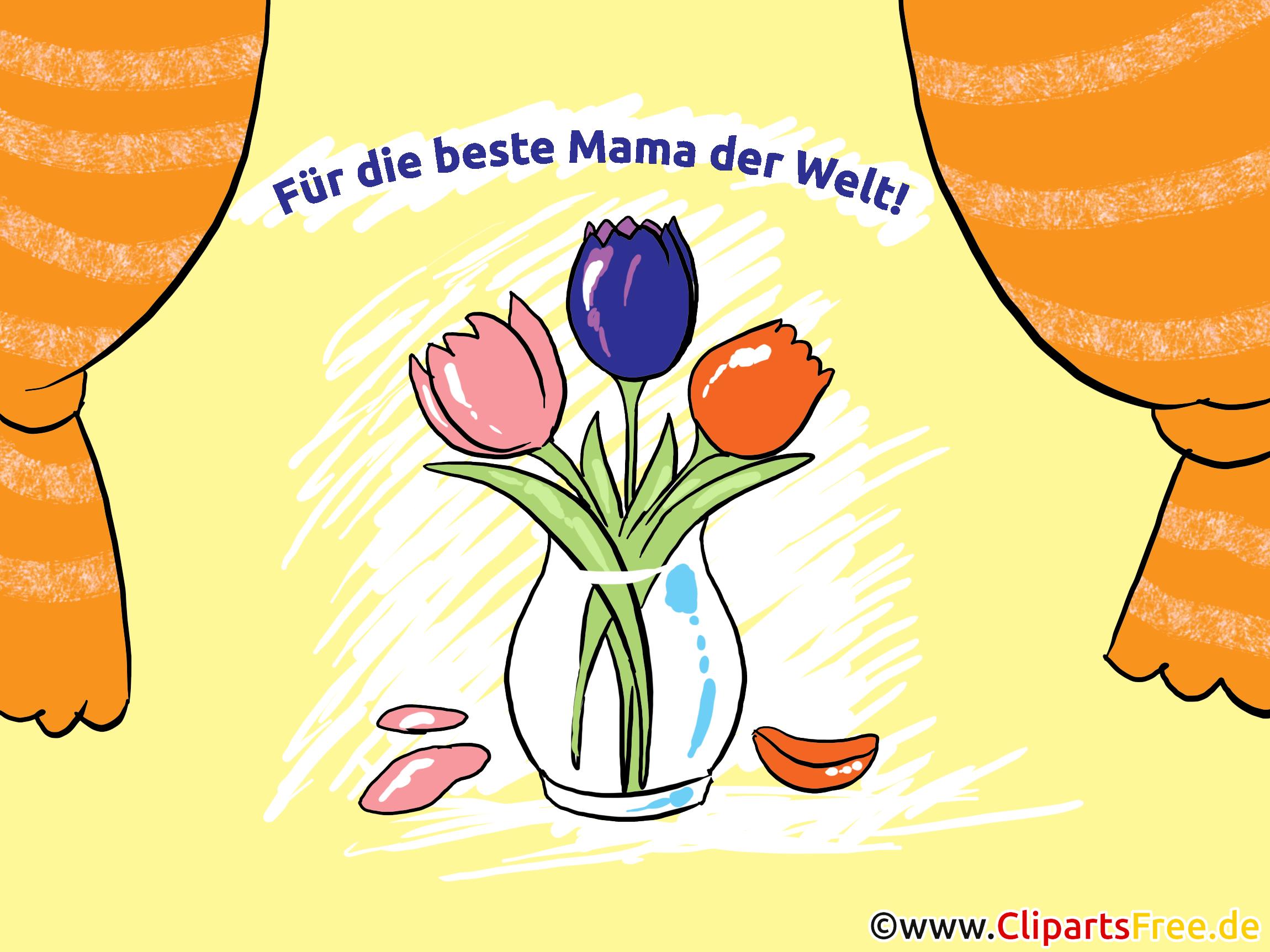 Muttertagsgeschenke selbst basteln zum Muttertag z. B. Grusskarten