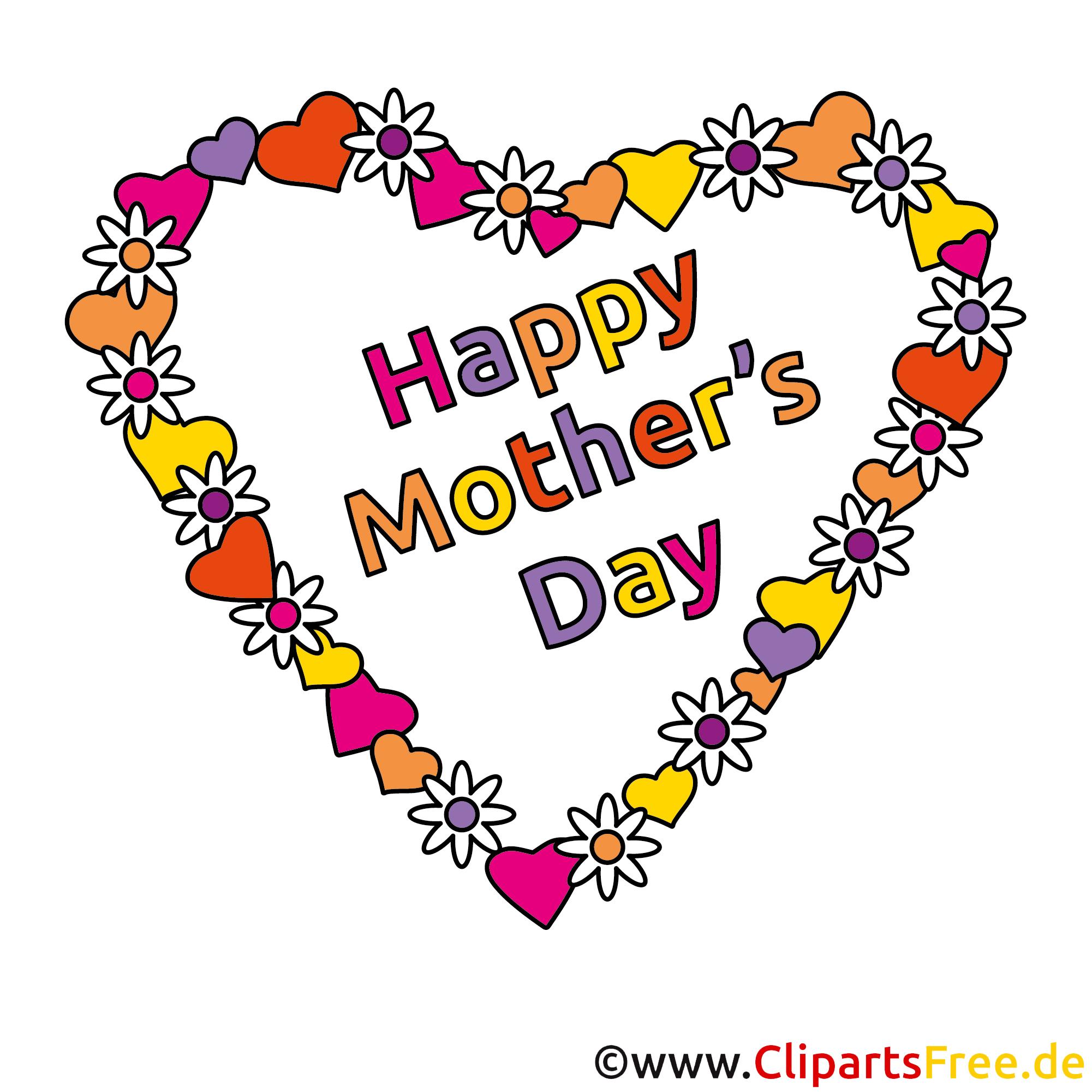 Schönen Muttertag Clipart