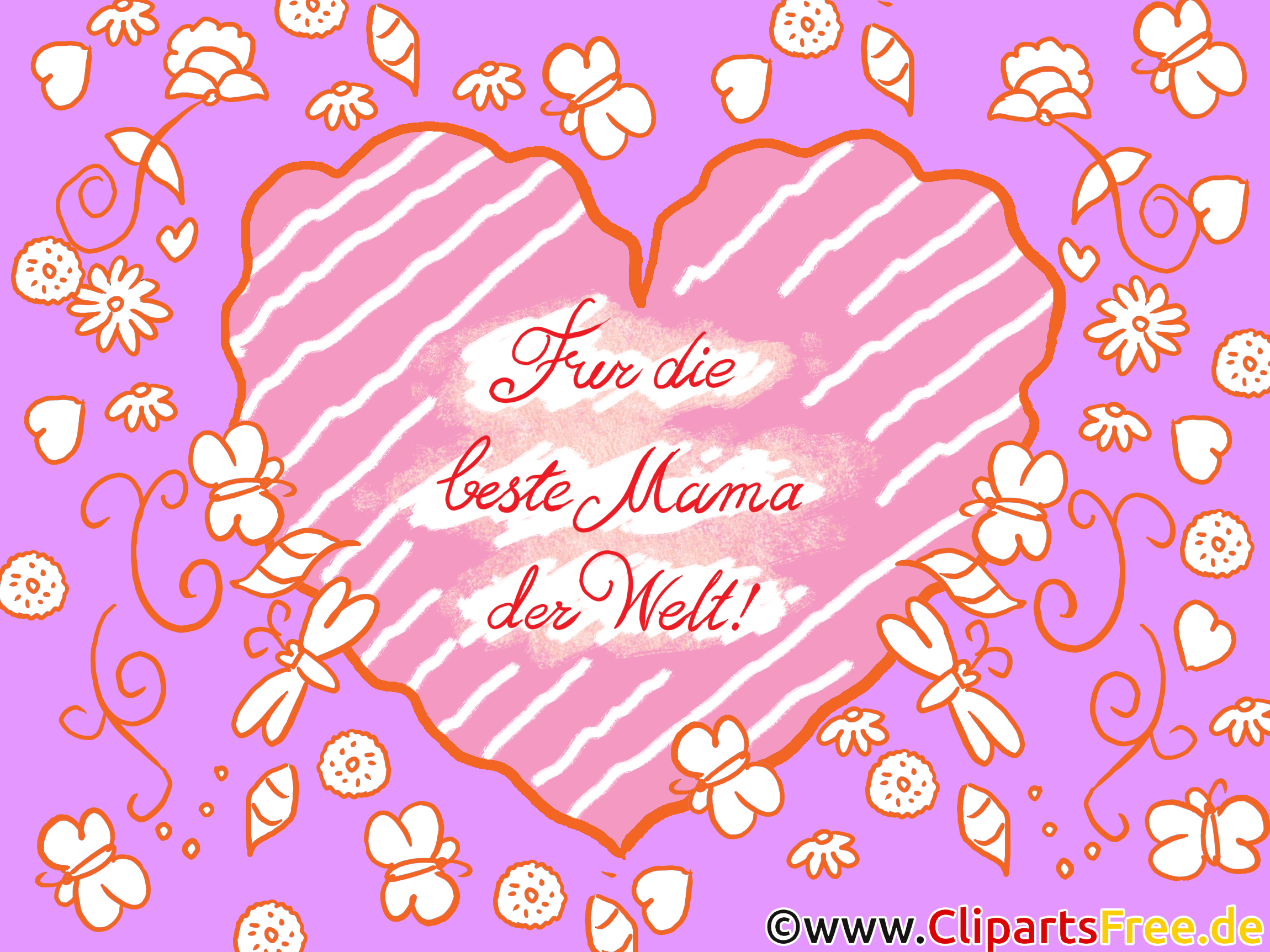 Wunschkarte für Mutter zum Muttertag