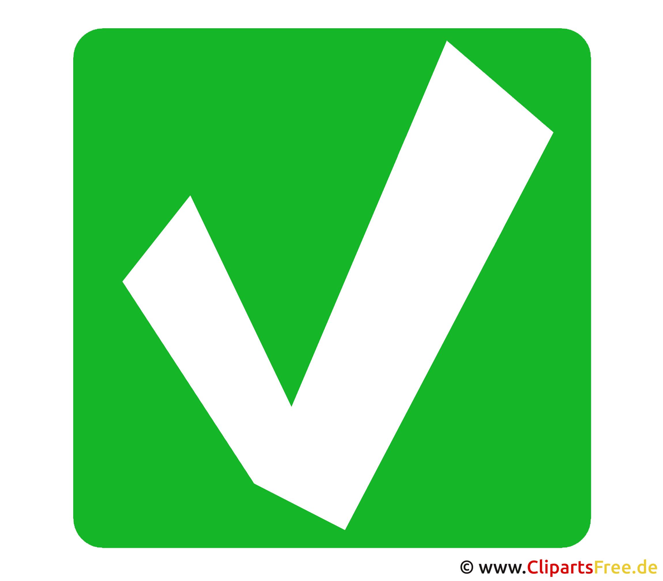 Erledigt haken for Clipart gratis download