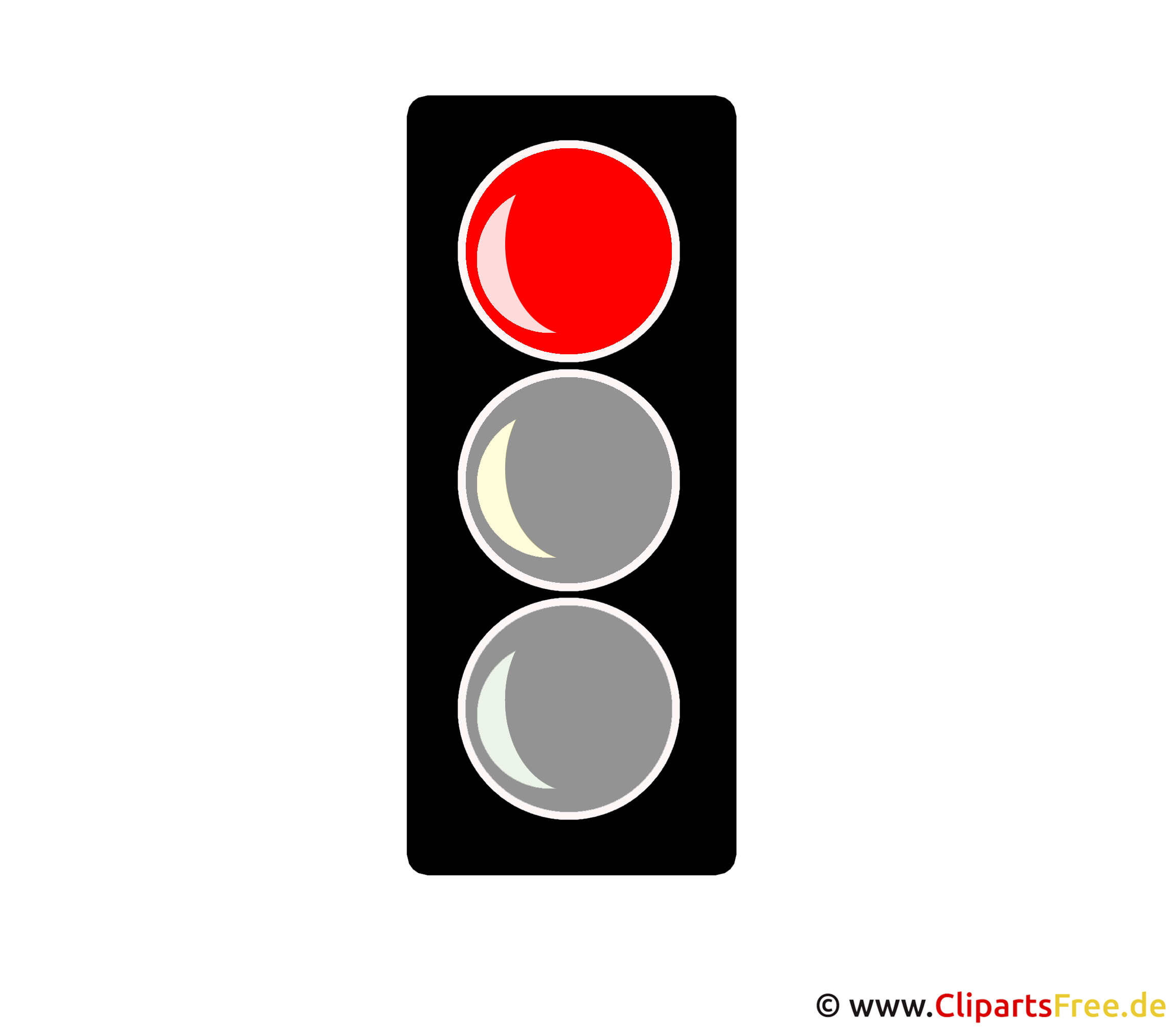 Rote >> Rote Ampel Clipart