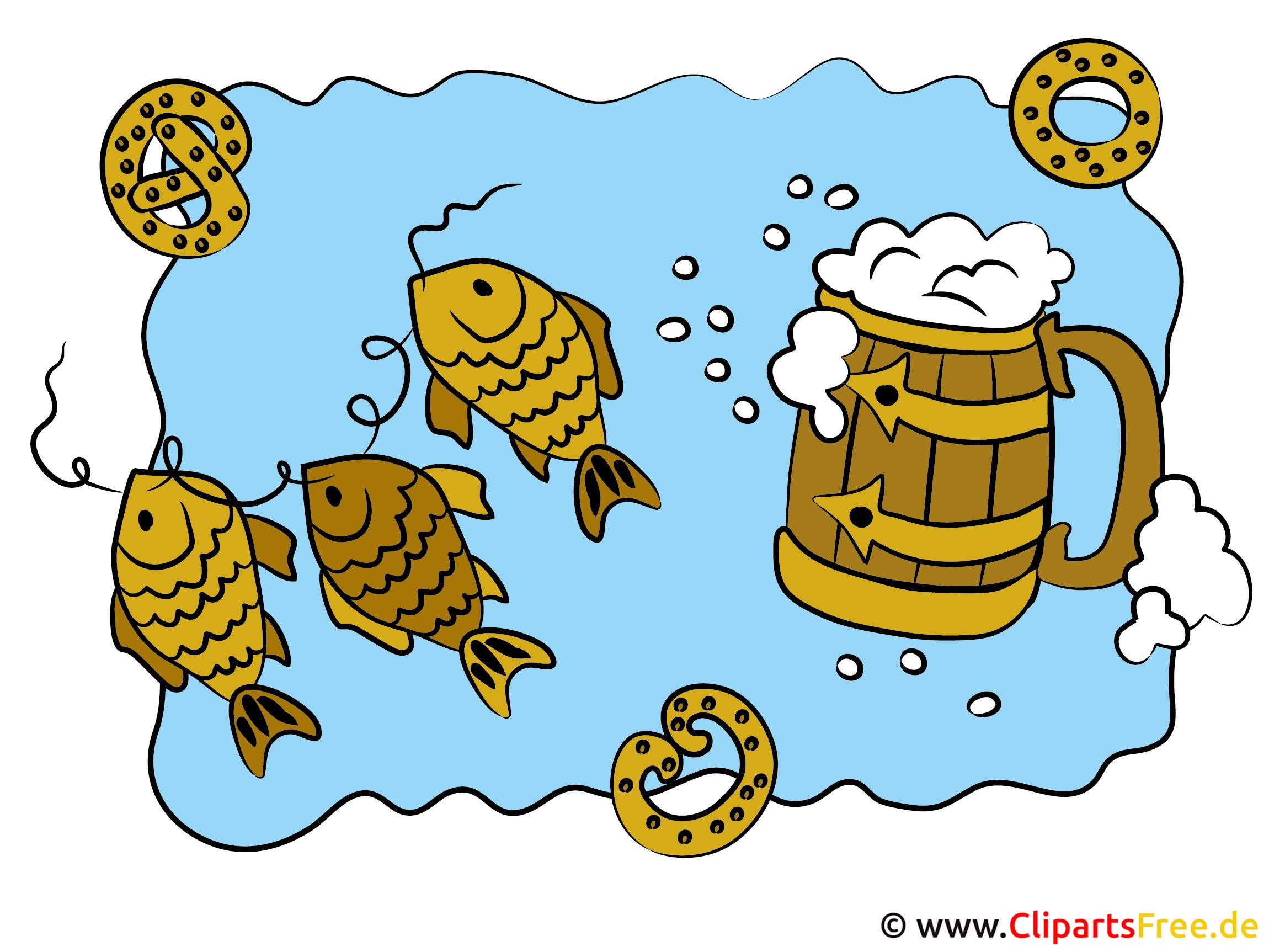 Bilder zum Oktoberfest Bier Cliparts