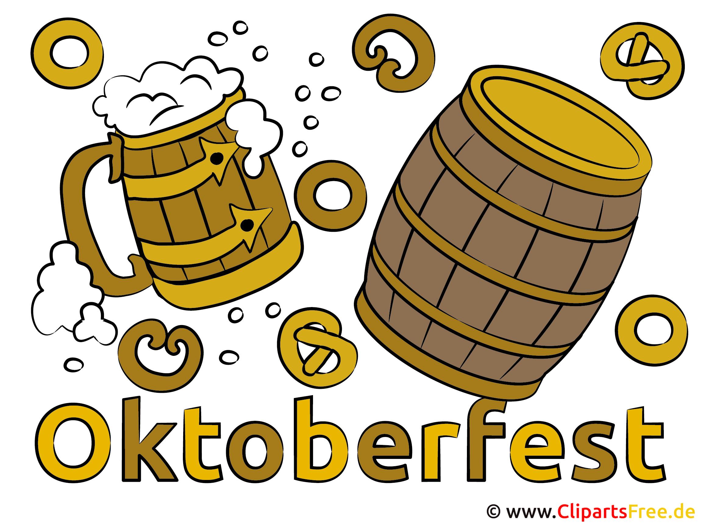 oktoberfest bilder, cliparts, cartoons, grafiken, illustrationen, Einladung