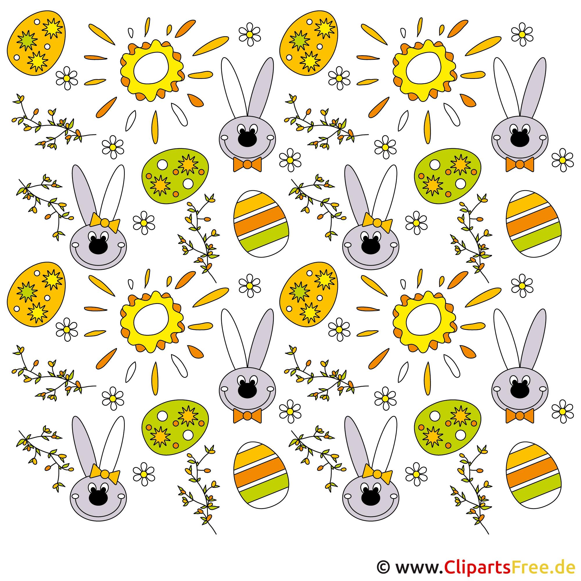 Cliparts zu Ostern gratis