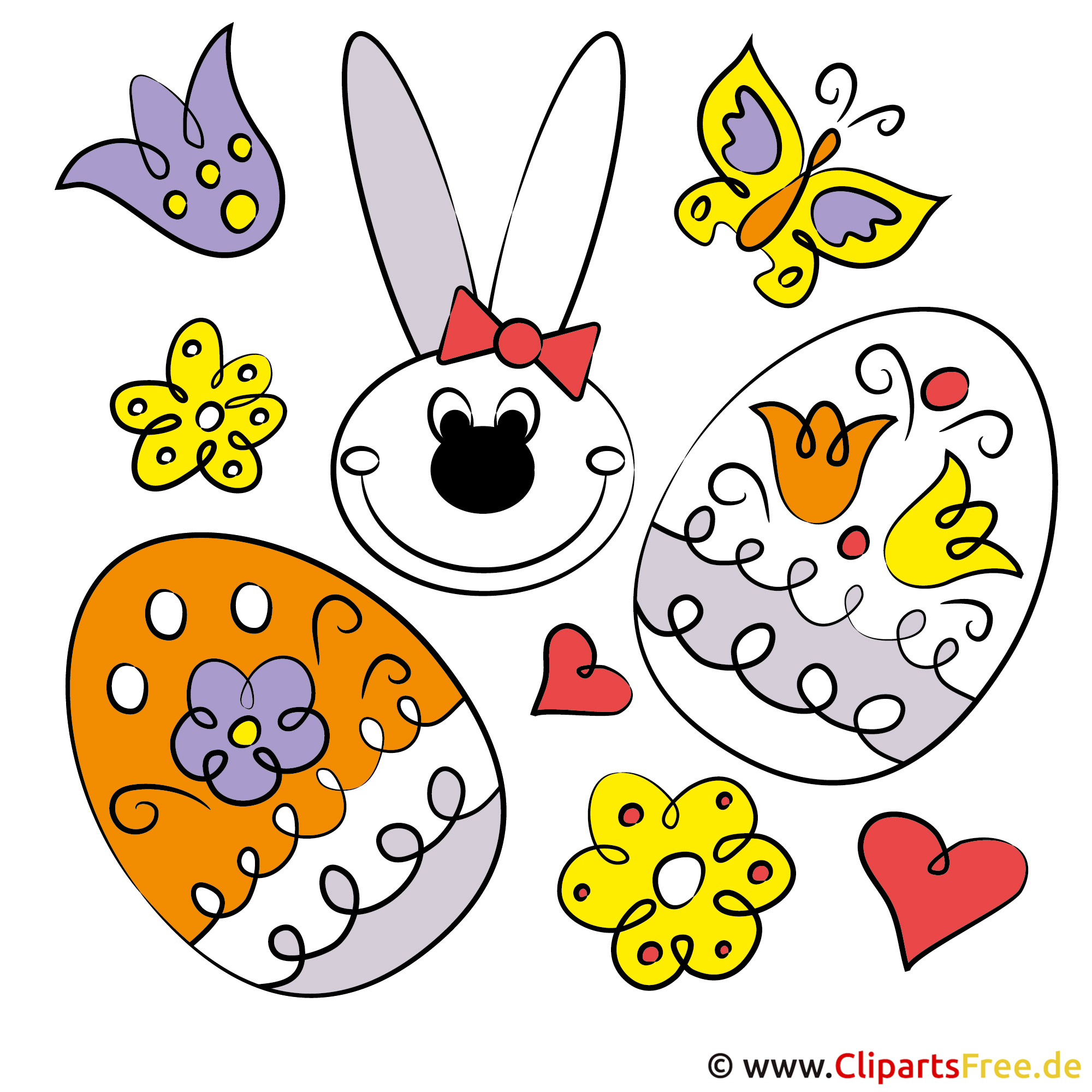 Osterbilder gratis for Clipart gratis download