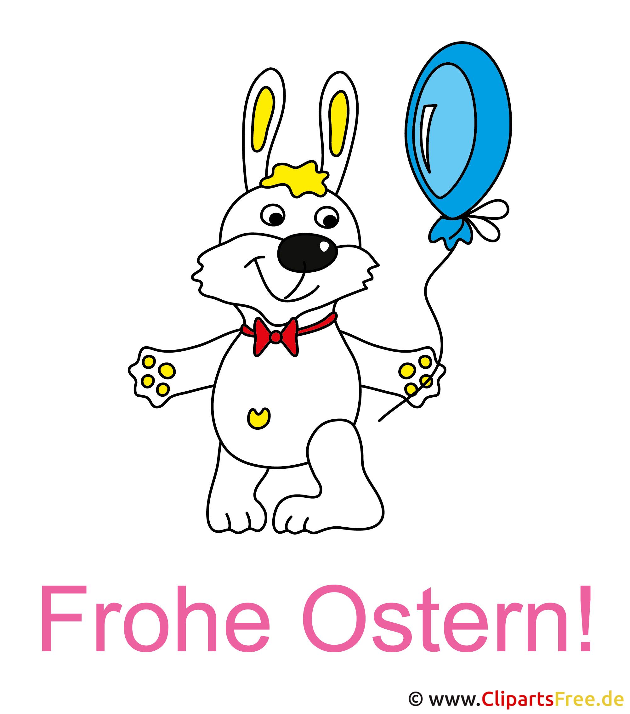 Osterhase gratis Clipart