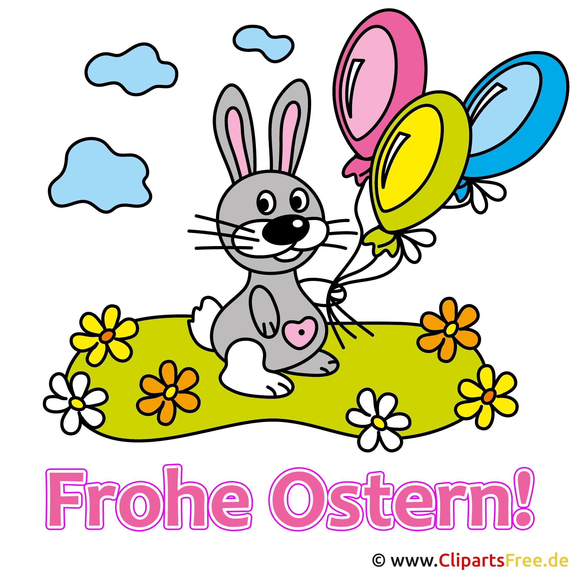 Osterhasen Clipart - Bilder