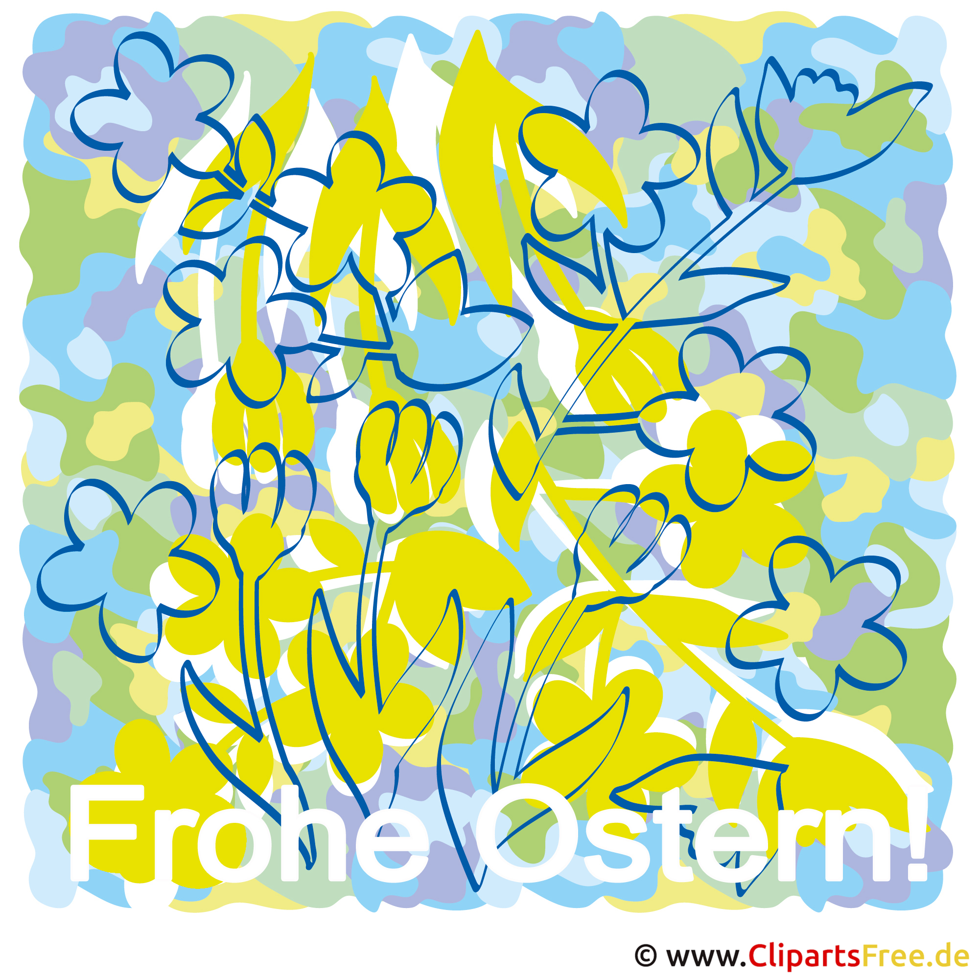 Ostern Cliparts free