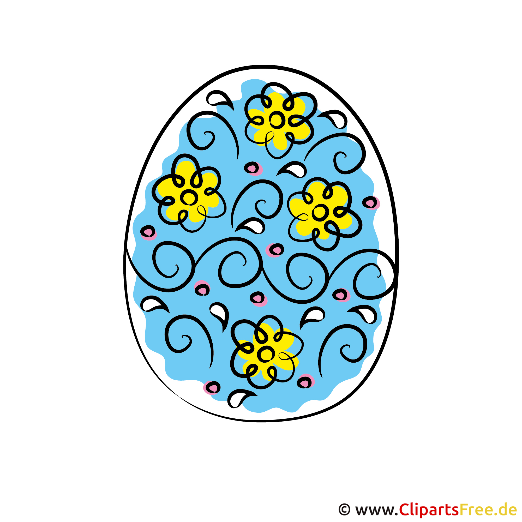 Ostern Ei Bild gratis