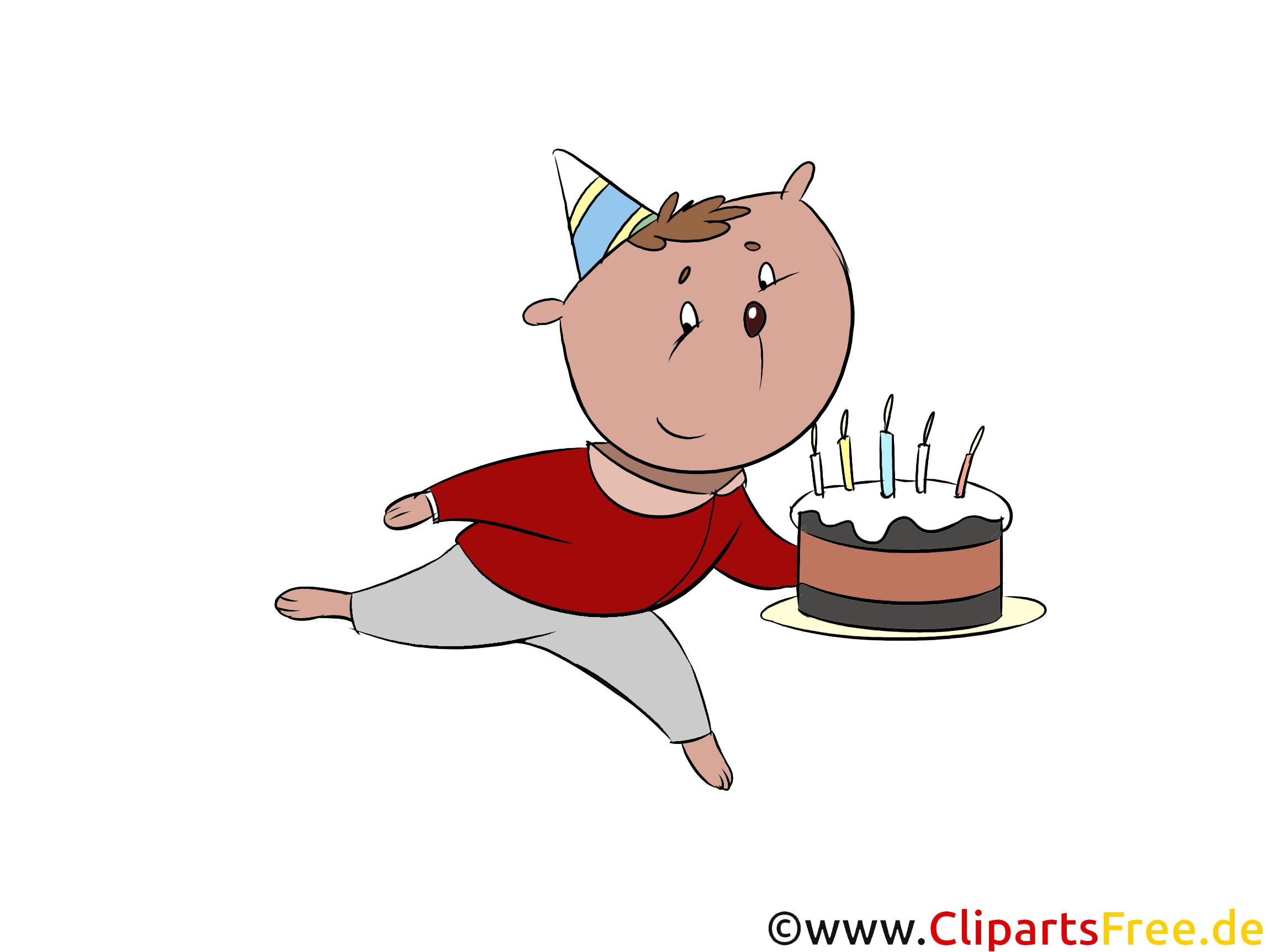 Cartoon Geburtstag kostenlos