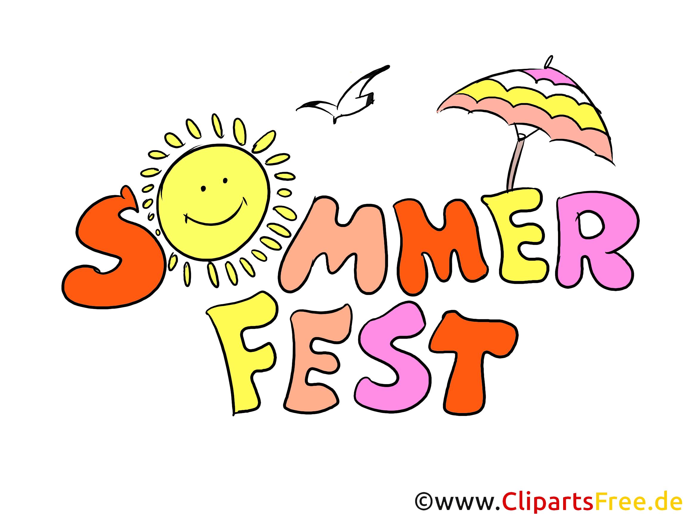 Clipart Sommerfest