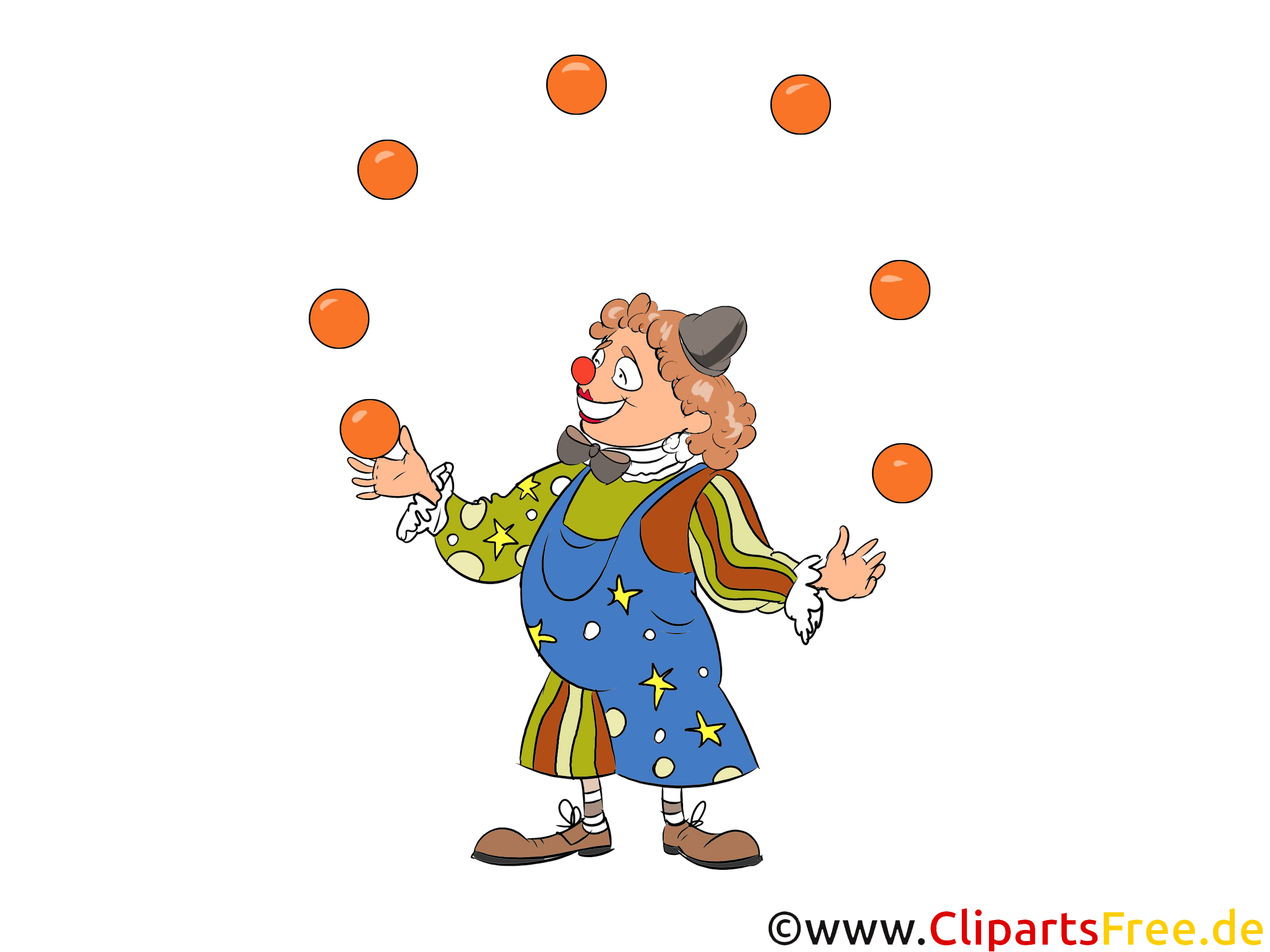 Clown Clipart