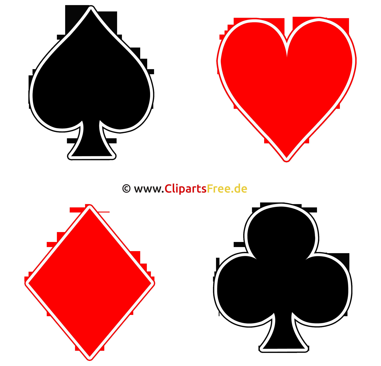 Kartenfarben